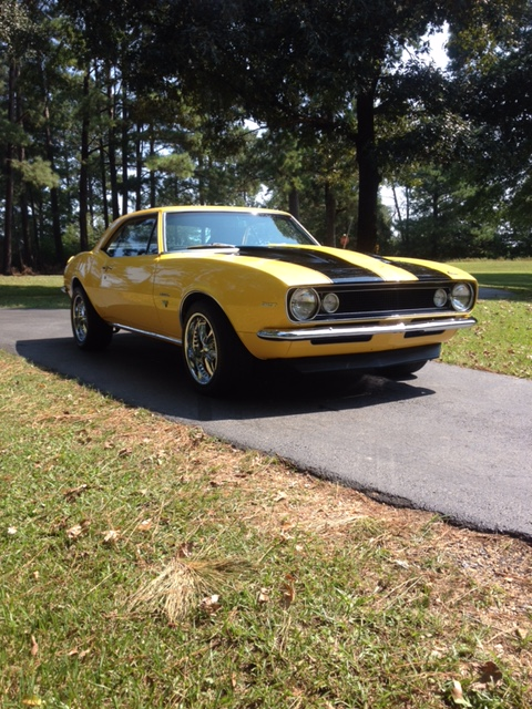 2nd Image of a 1967 CHEVROLET CAMARO