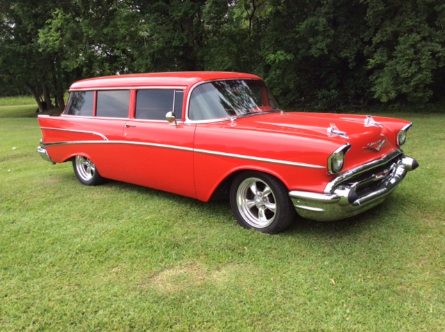 4th Image of a 1957 CHEVROLET 210