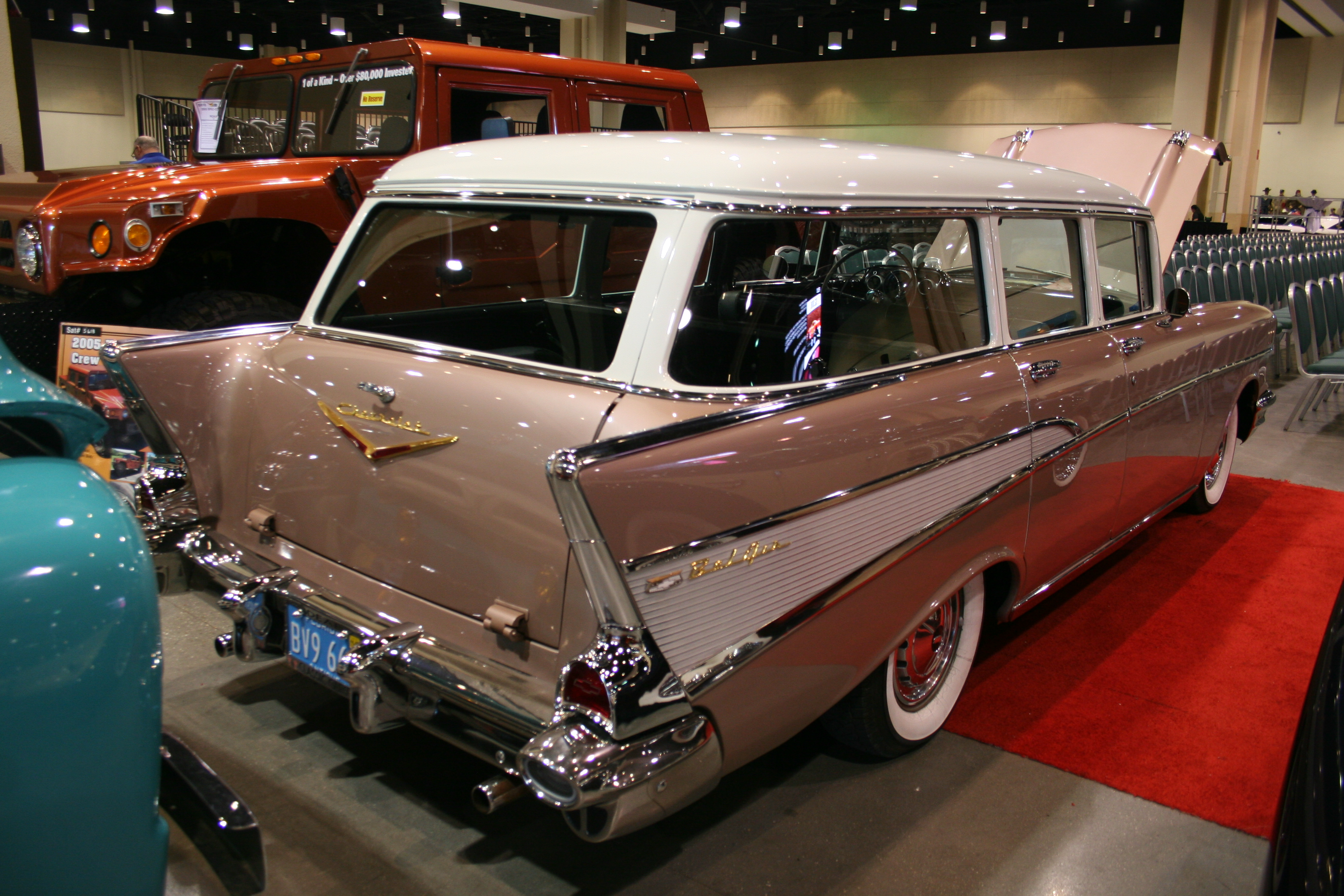 9th Image of a 1957 CHEVROLET BELAIR