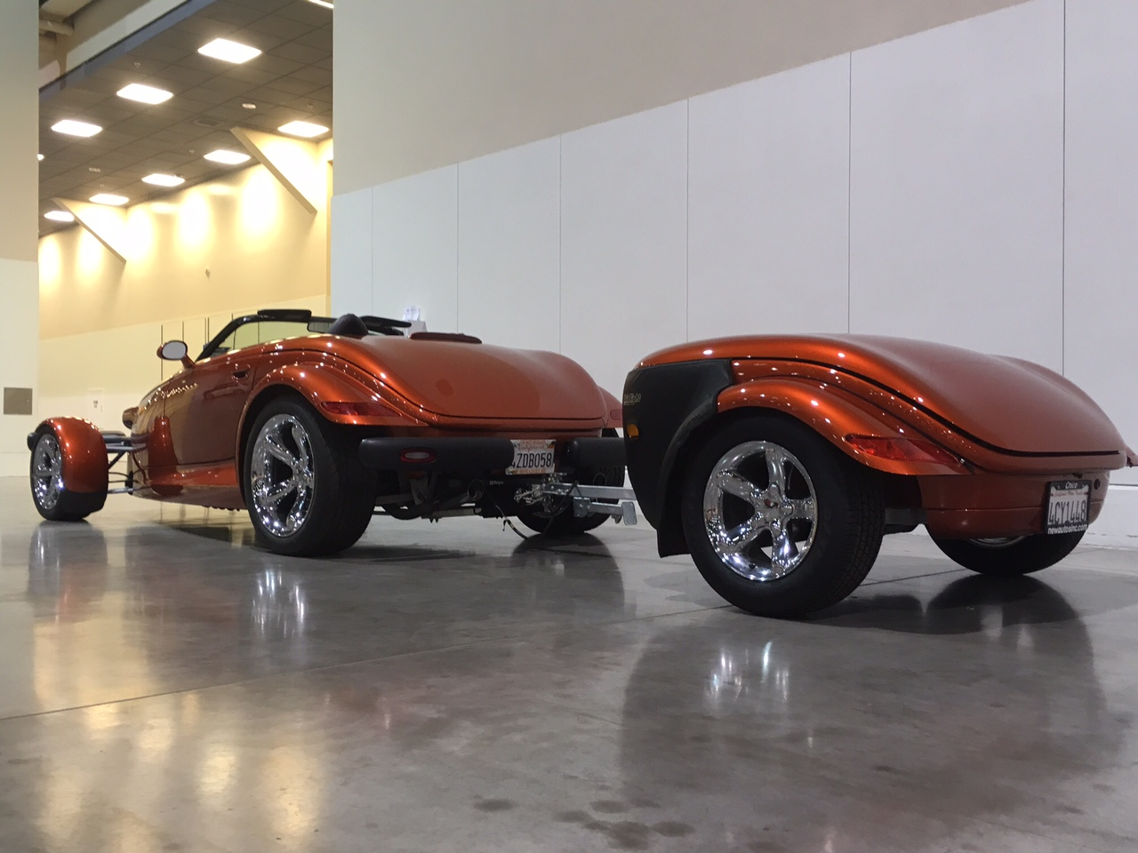 3rd Image of a 2001 CHRYSLER PROWLER