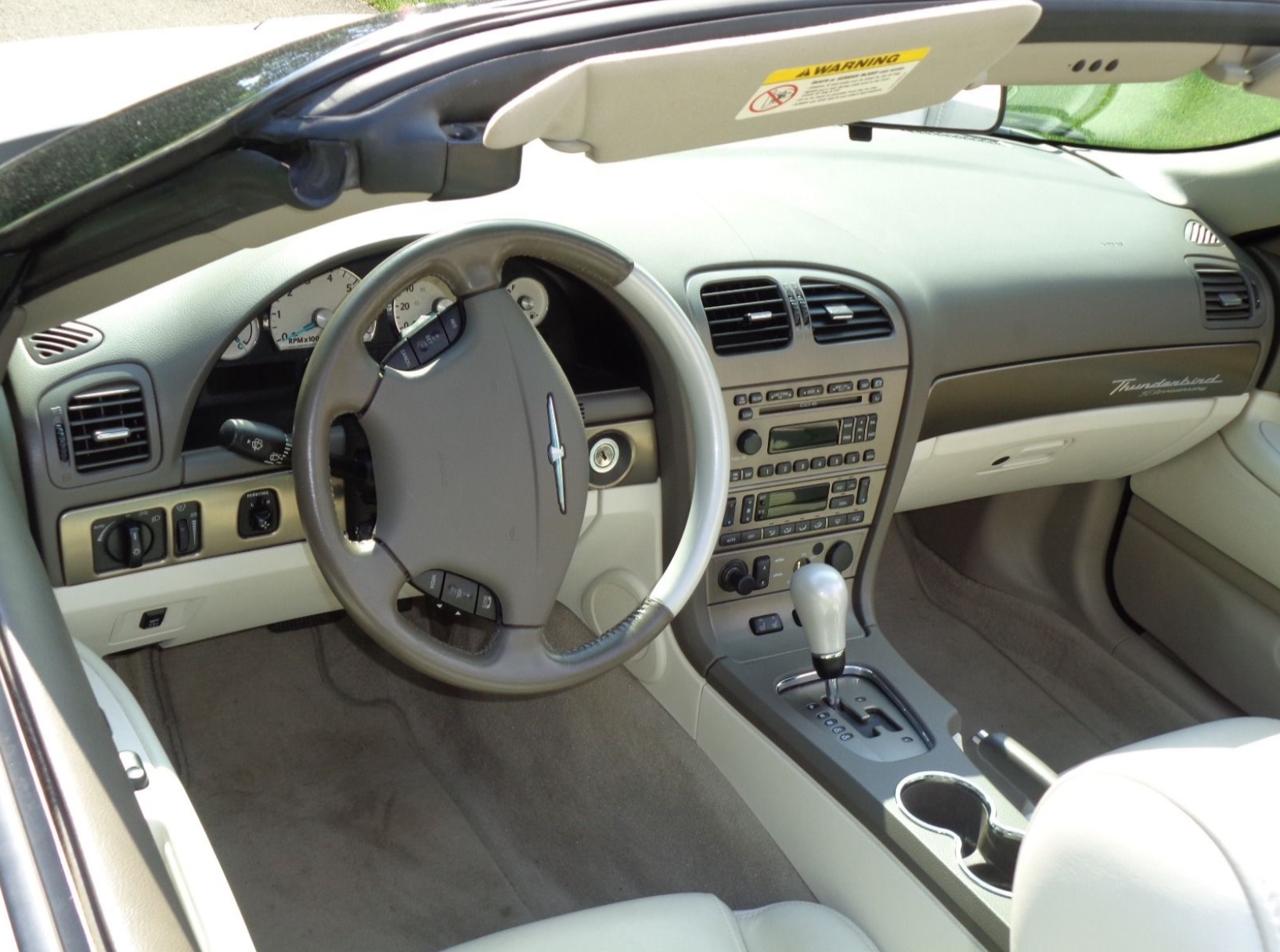 3rd Image of a 2005 FORD THUNDERBIRD 50TH ANNIVERSARY