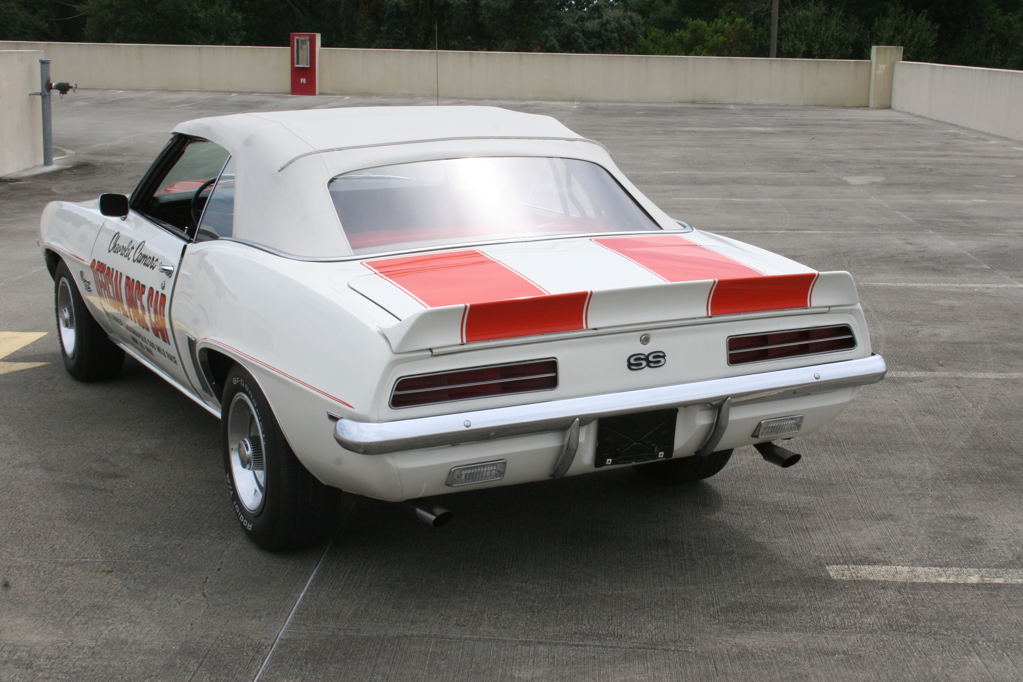 4th Image of a 1969 CHEVROLET PACE CAR