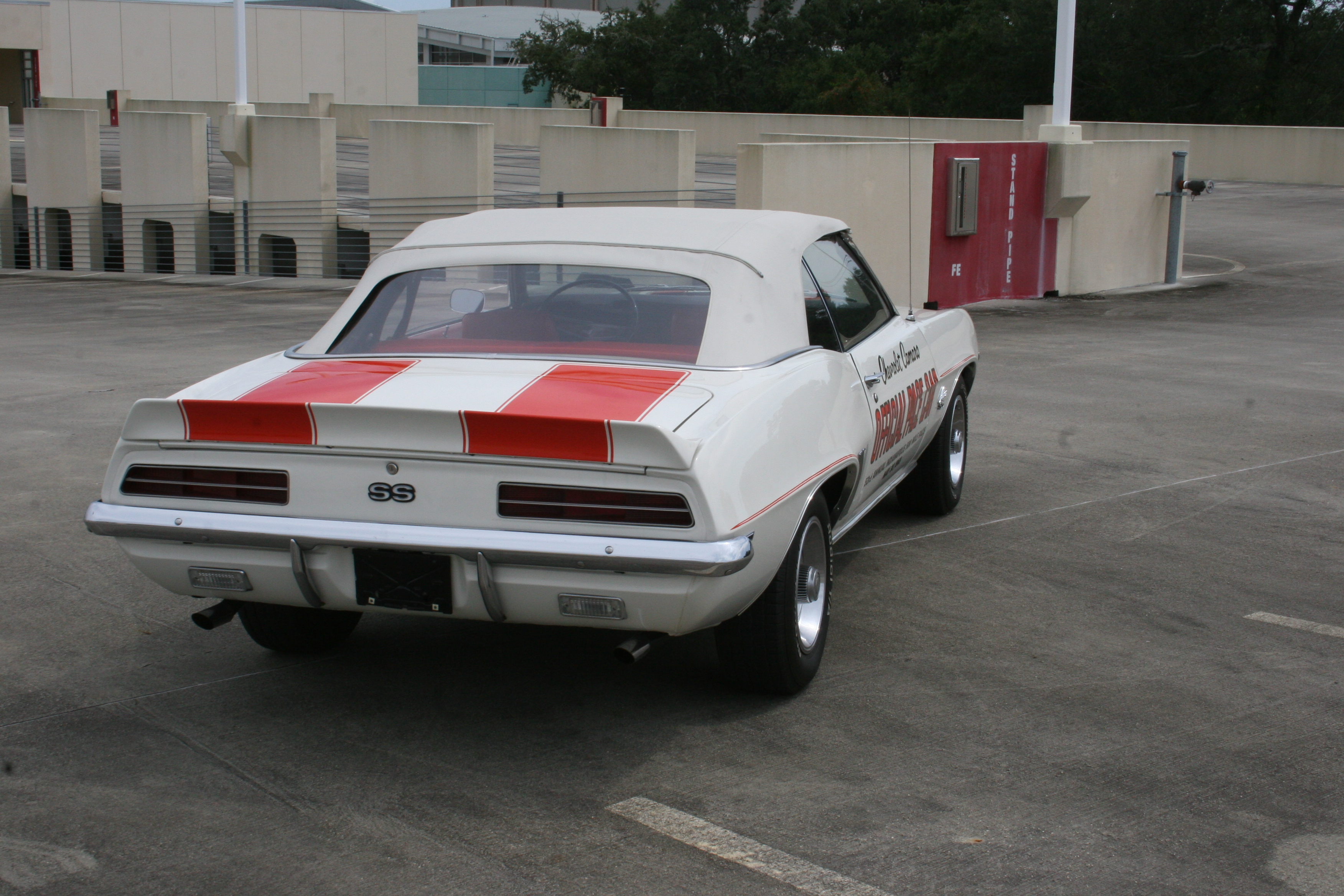 5th Image of a 1969 CHEVROLET PACE CAR