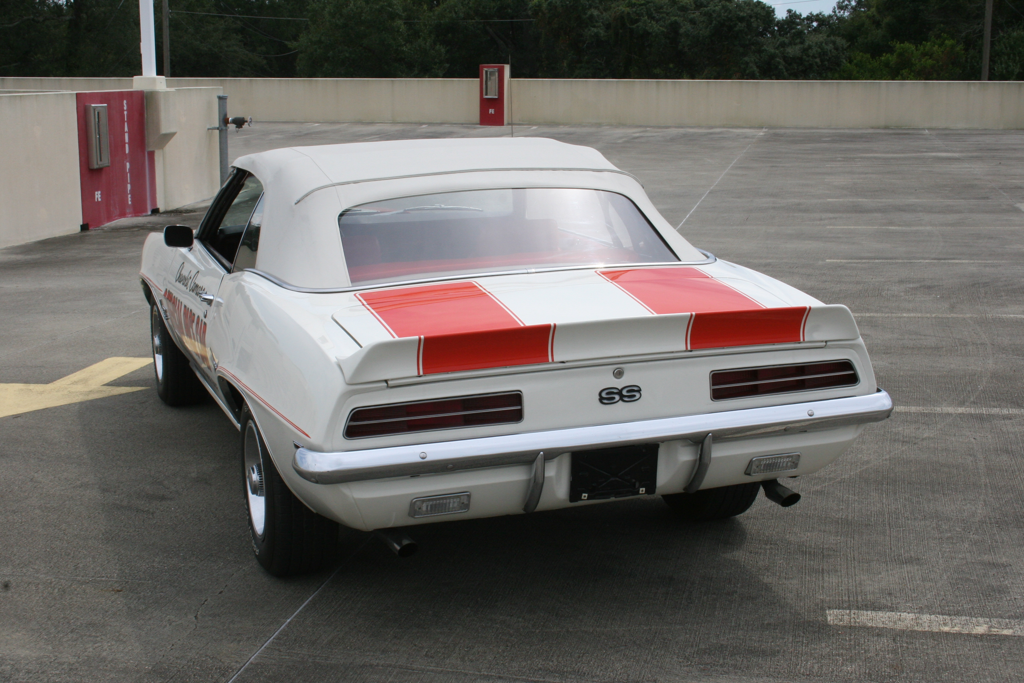 6th Image of a 1969 CHEVROLET PACE CAR