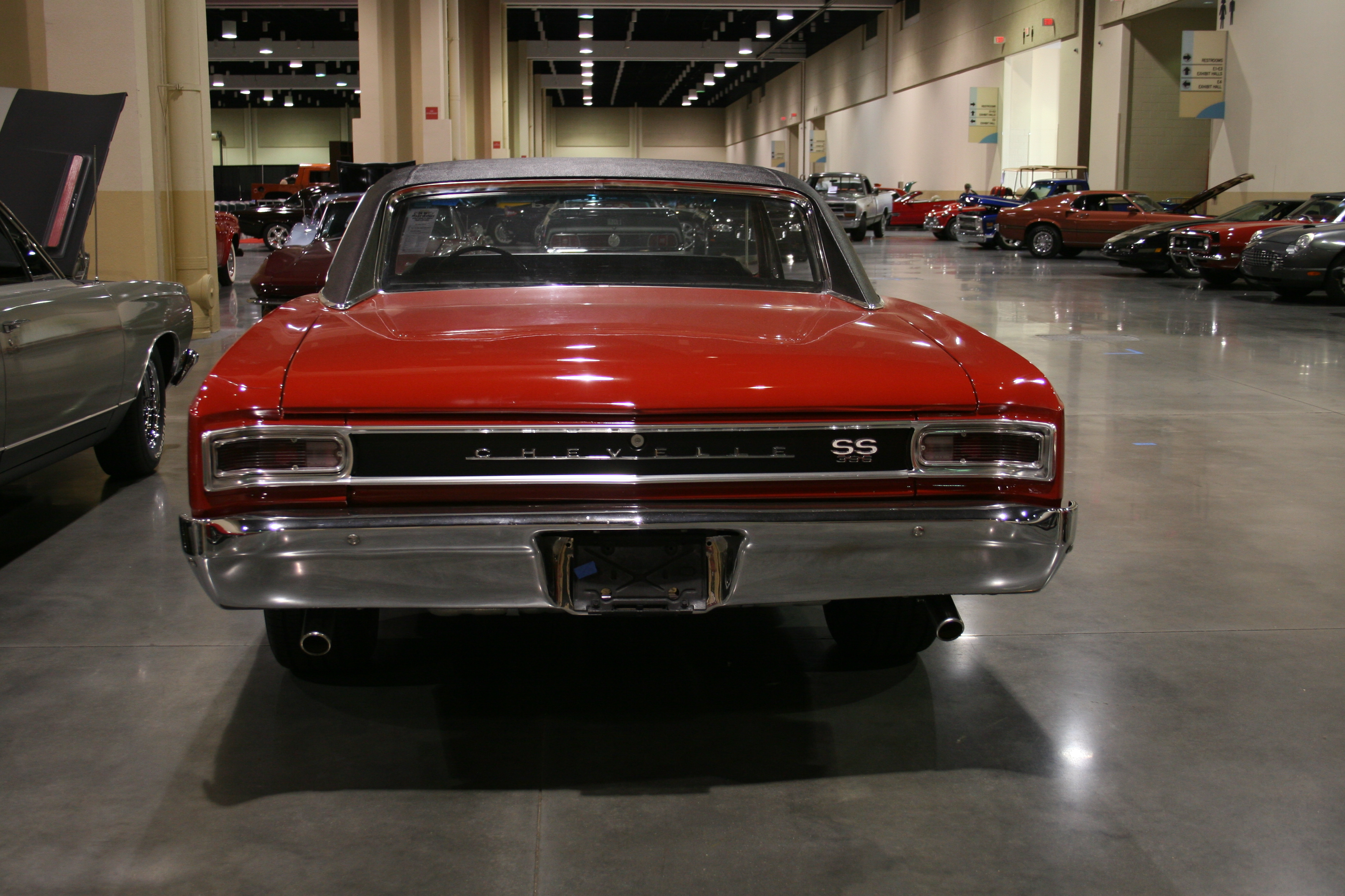 5th Image of a 1966 CHEVROLET CHEVELLE SS 396