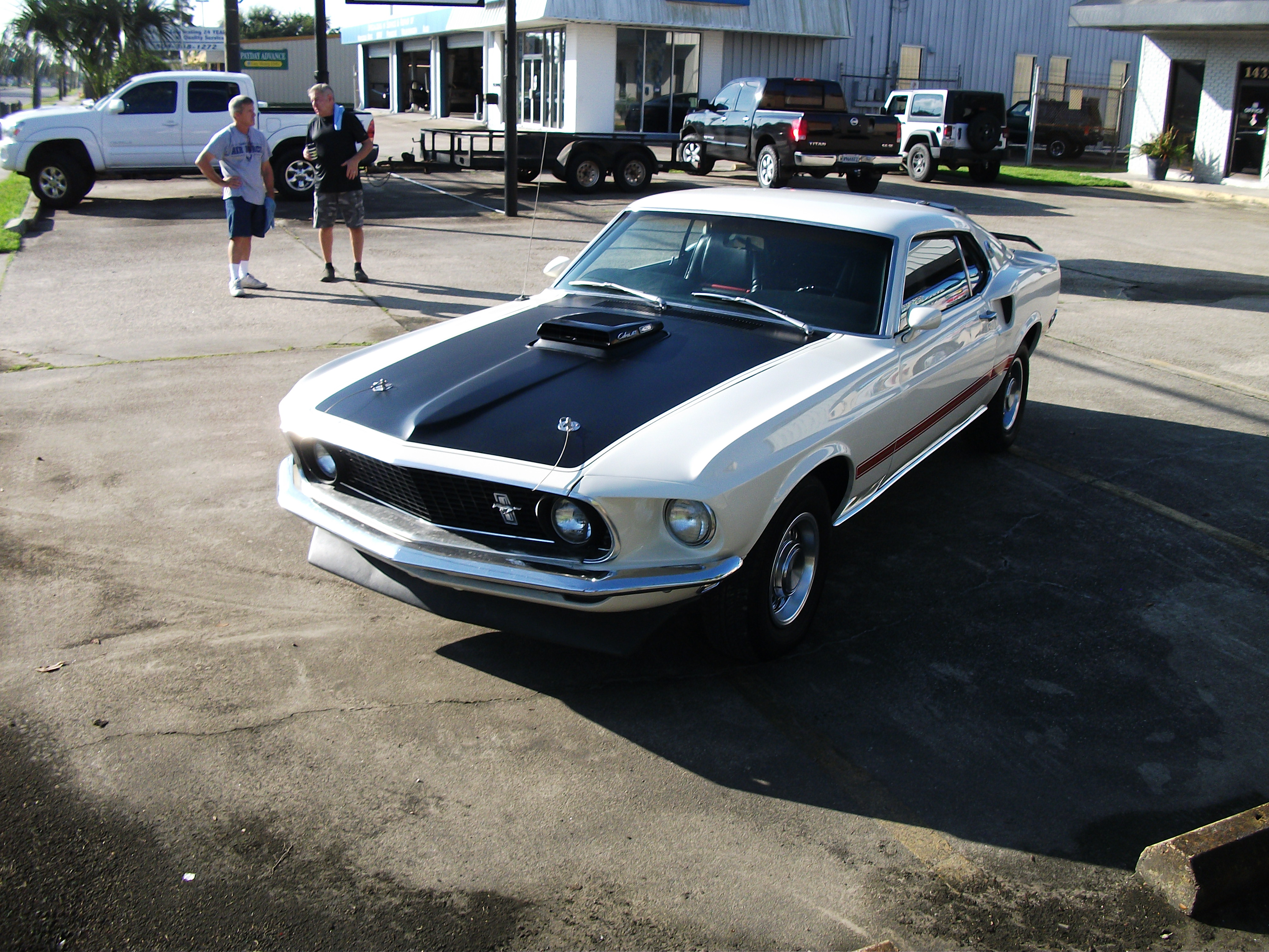 2nd Image of a 1969 FORD COBRA JET MUSTANG