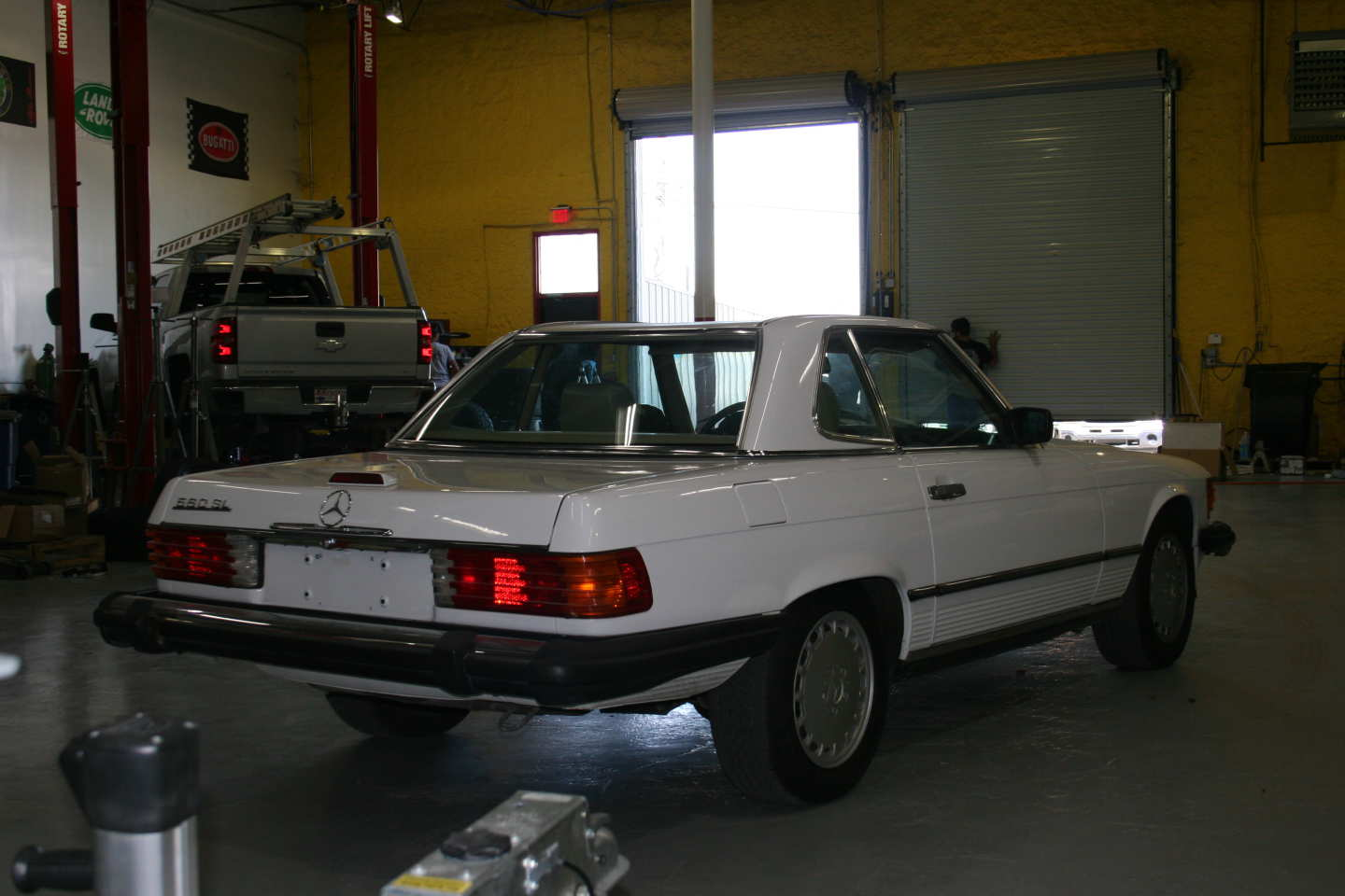 6th Image of a 1989 MERCEDES-BENZ 560 560SL