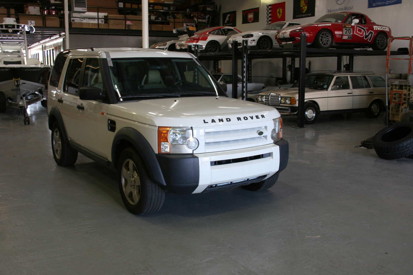 5th Image of a 2006 LANDROVER LR3