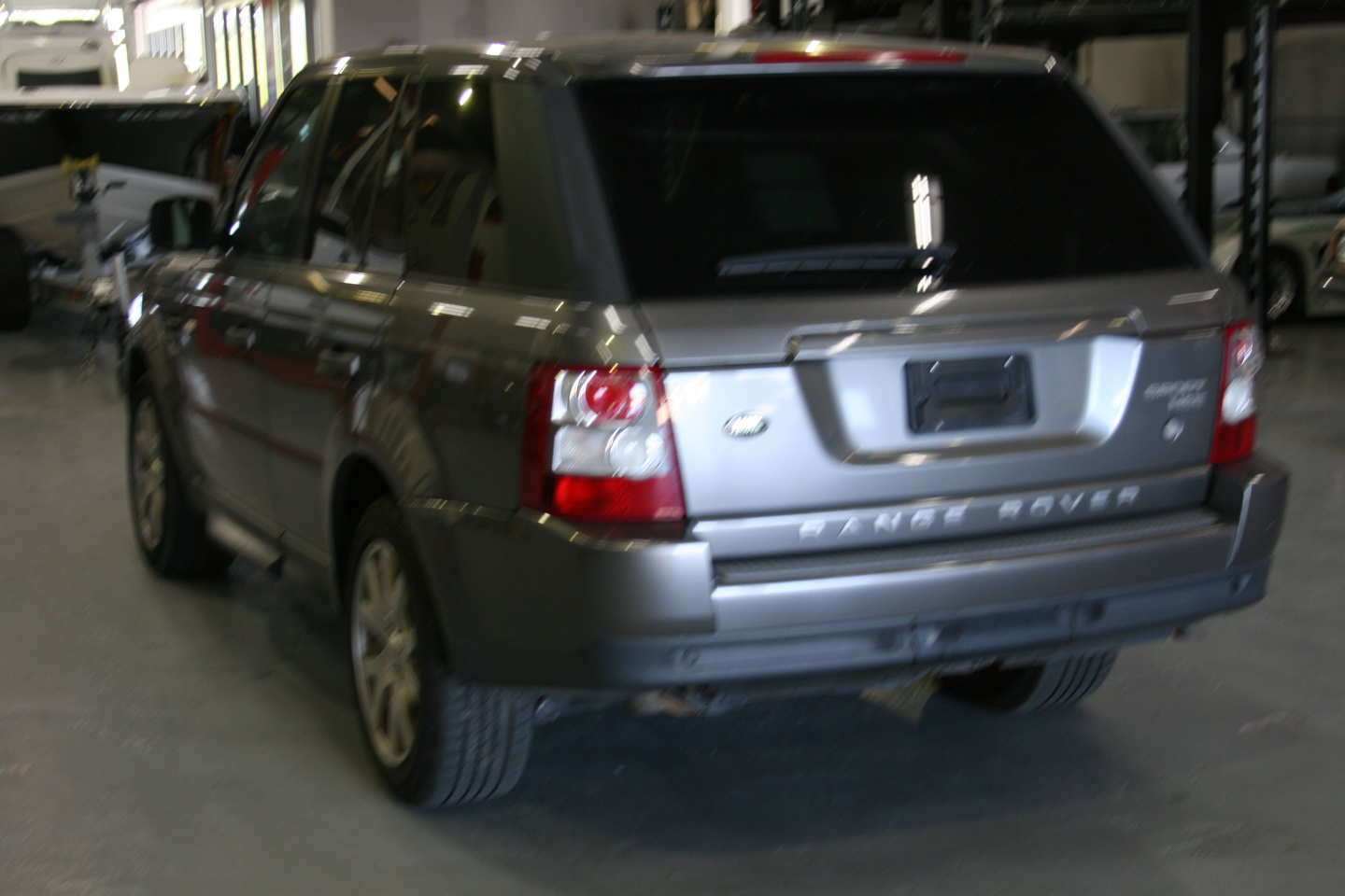 6th Image of a 2009 LAND ROVER RANGE ROVER SPORT HSE