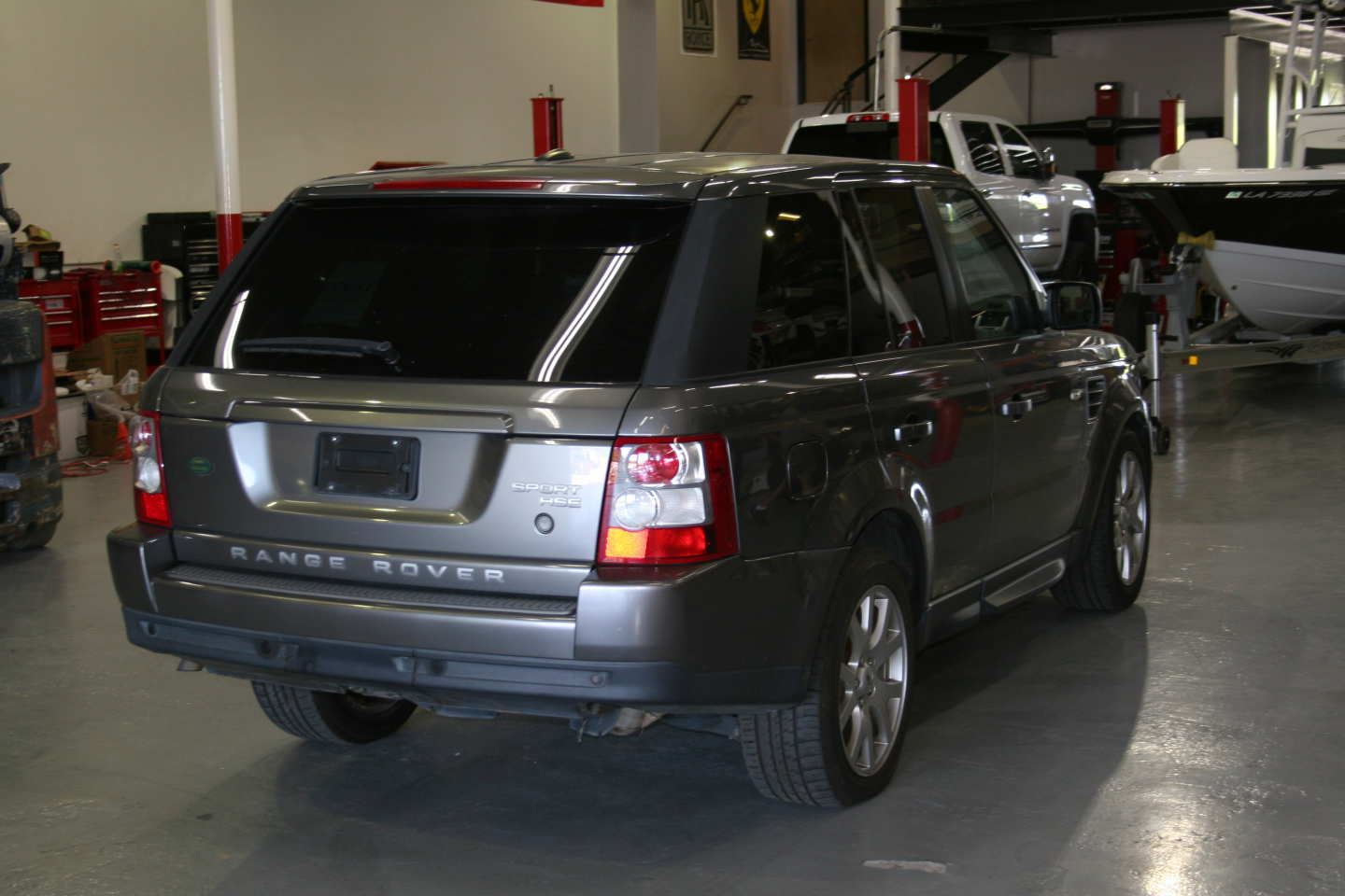 7th Image of a 2009 LAND ROVER RANGE ROVER SPORT HSE