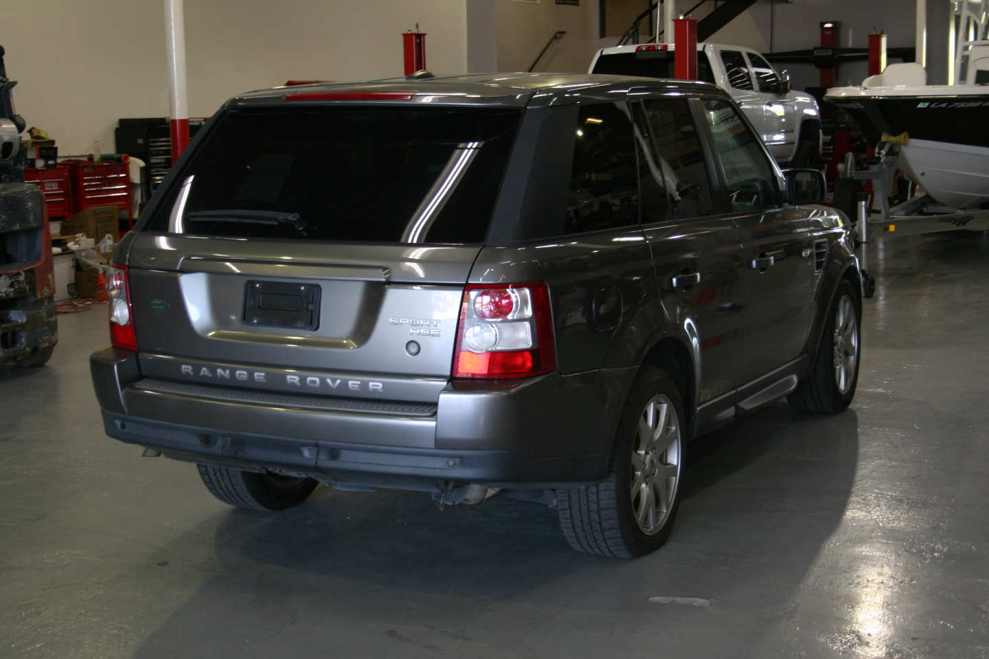 8th Image of a 2009 LAND ROVER RANGE ROVER SPORT HSE