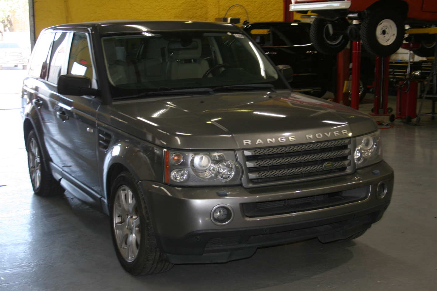 10th Image of a 2009 LAND ROVER RANGE ROVER SPORT HSE