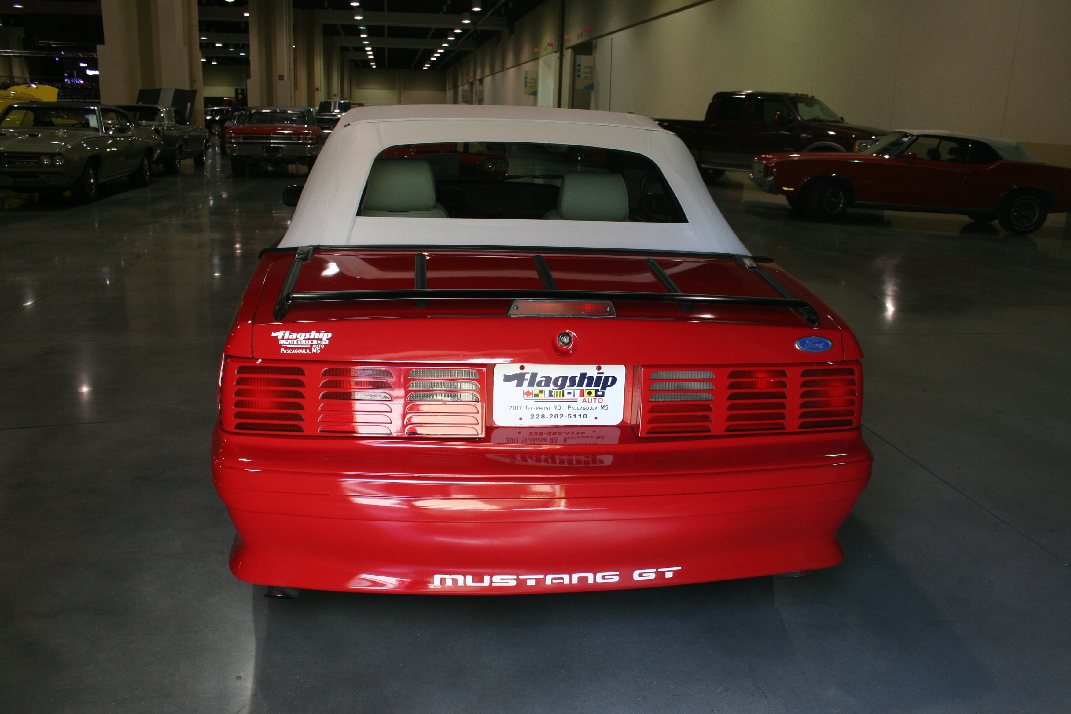 5th Image of a 1989 FORD MUSTANG GT