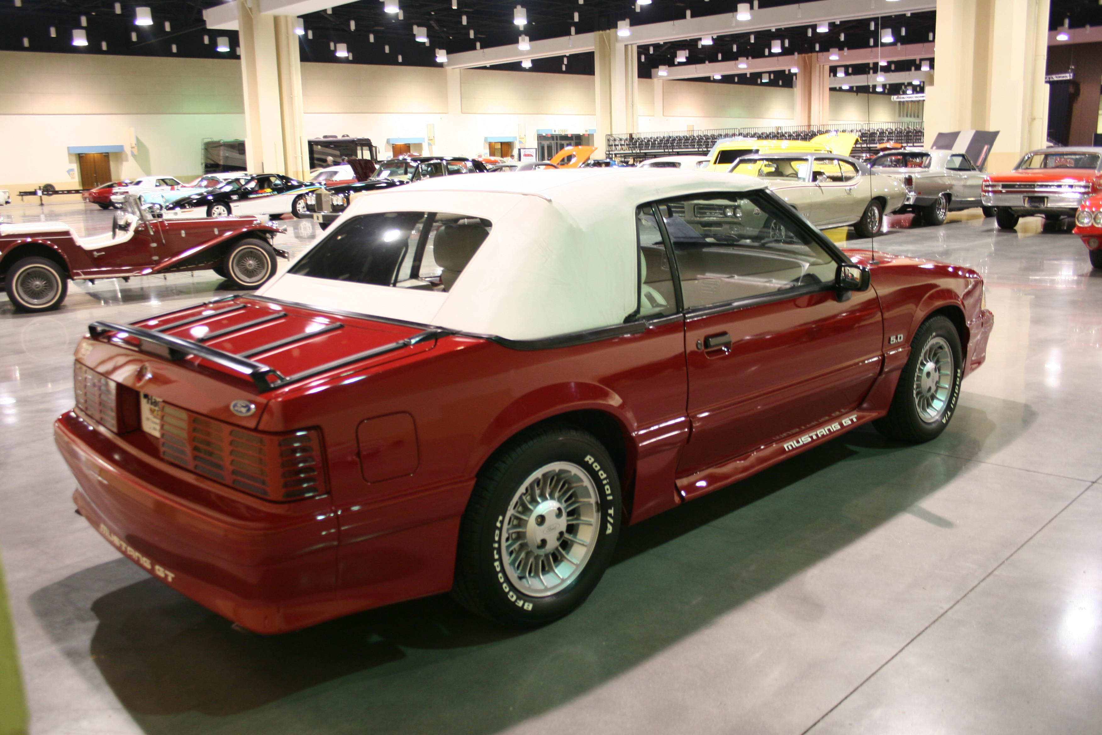 7th Image of a 1989 FORD MUSTANG GT