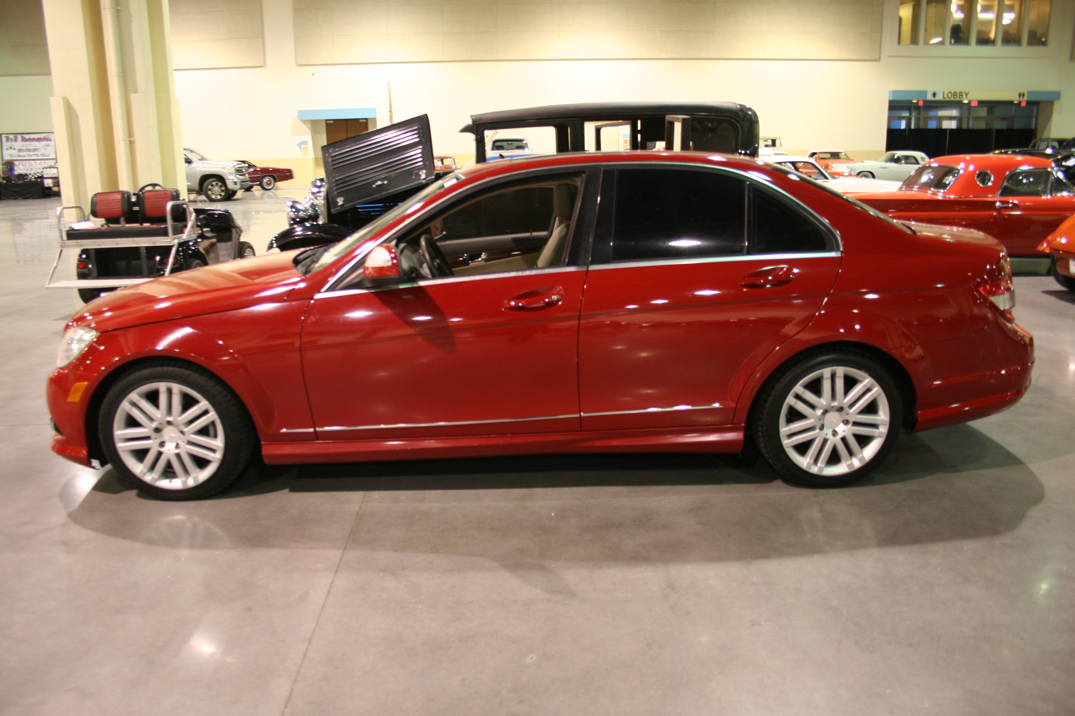 4th Image of a 2009 MERCEDES-BENZ C-CLASS C300