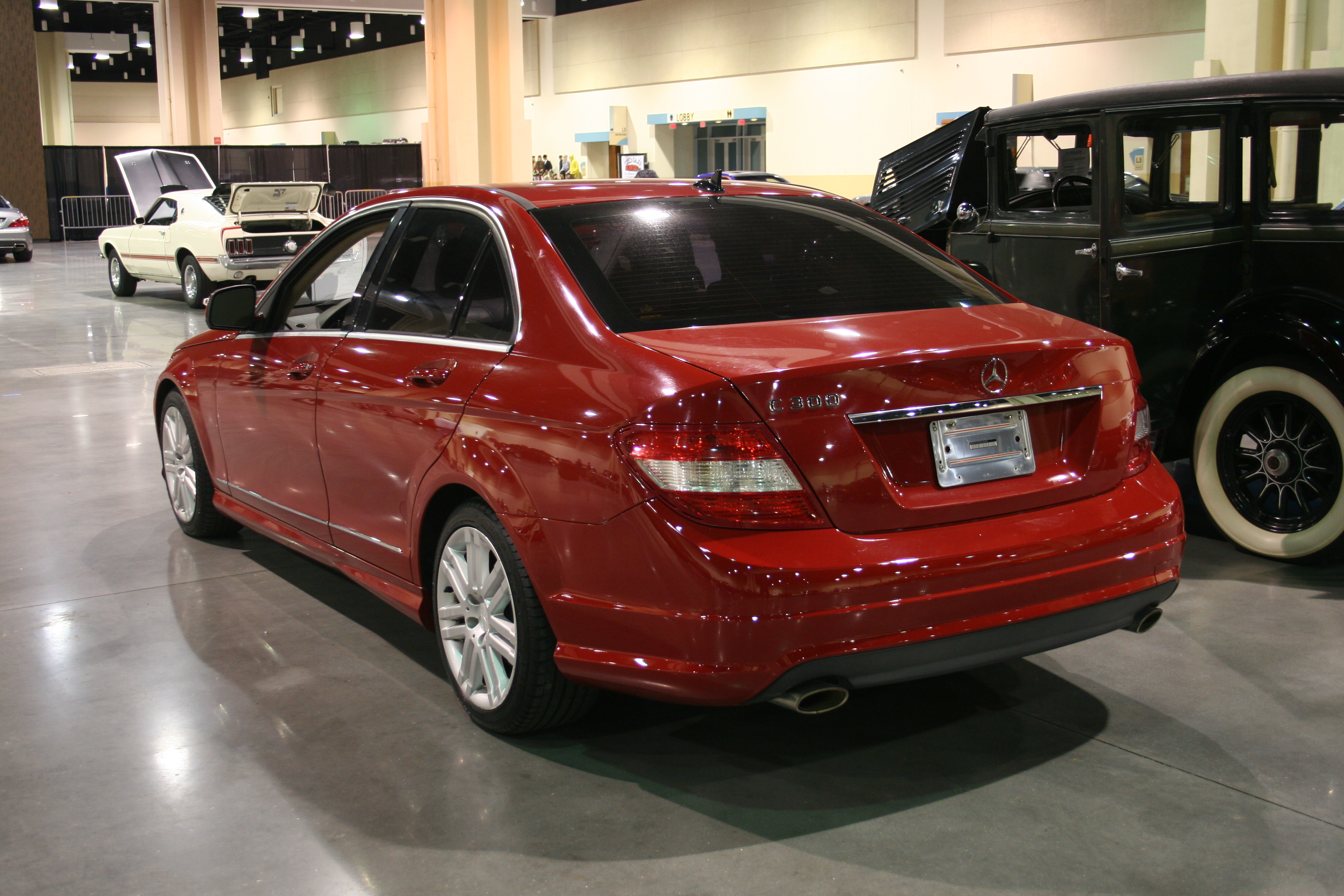 6th Image of a 2009 MERCEDES-BENZ C-CLASS C300
