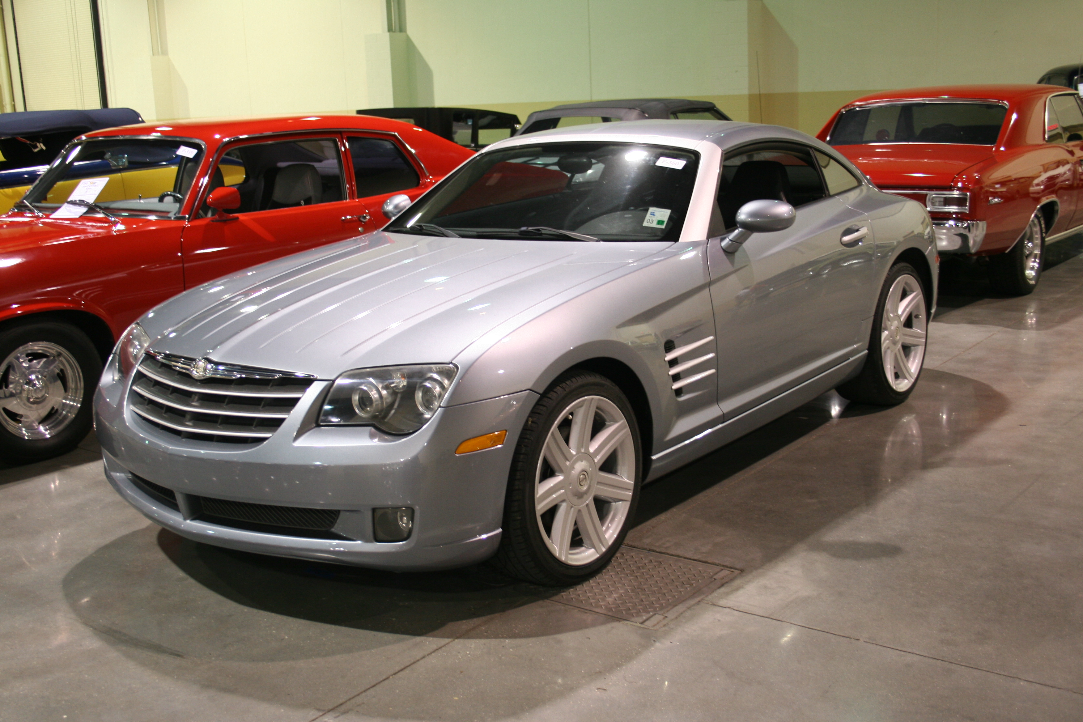 2nd Image of a 2004 CHRYSLER CROSSFIRE LHD