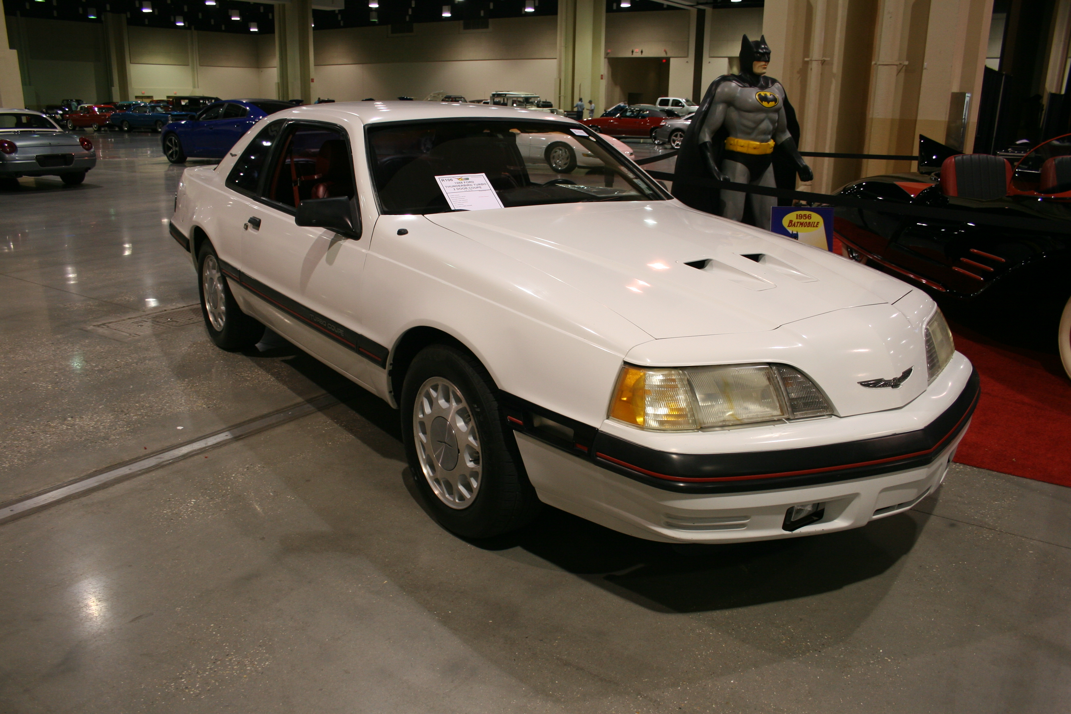 2nd Image of a 1988 FORD THUNDERBIRD TURBO