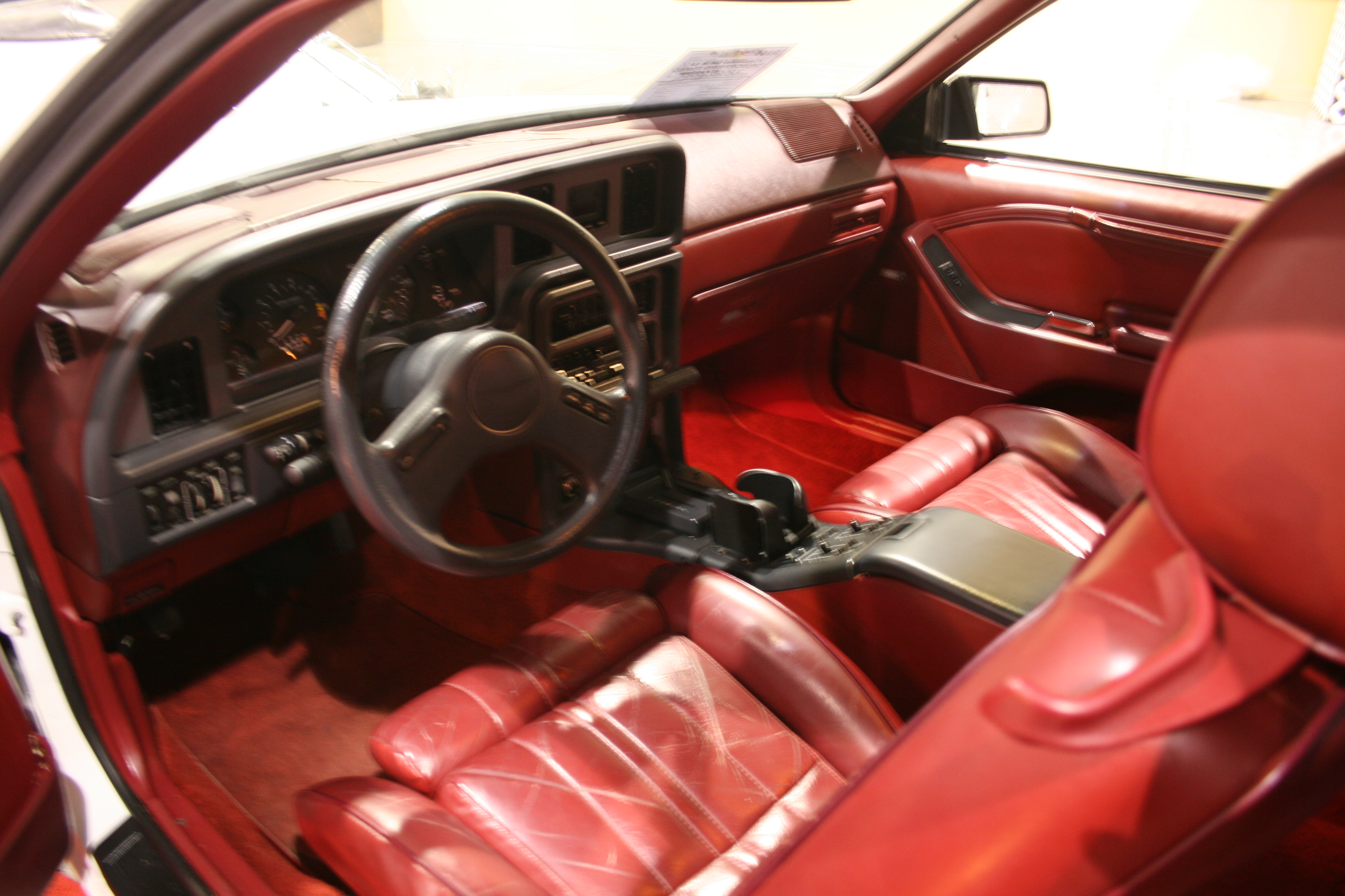 4th Image of a 1988 FORD THUNDERBIRD TURBO