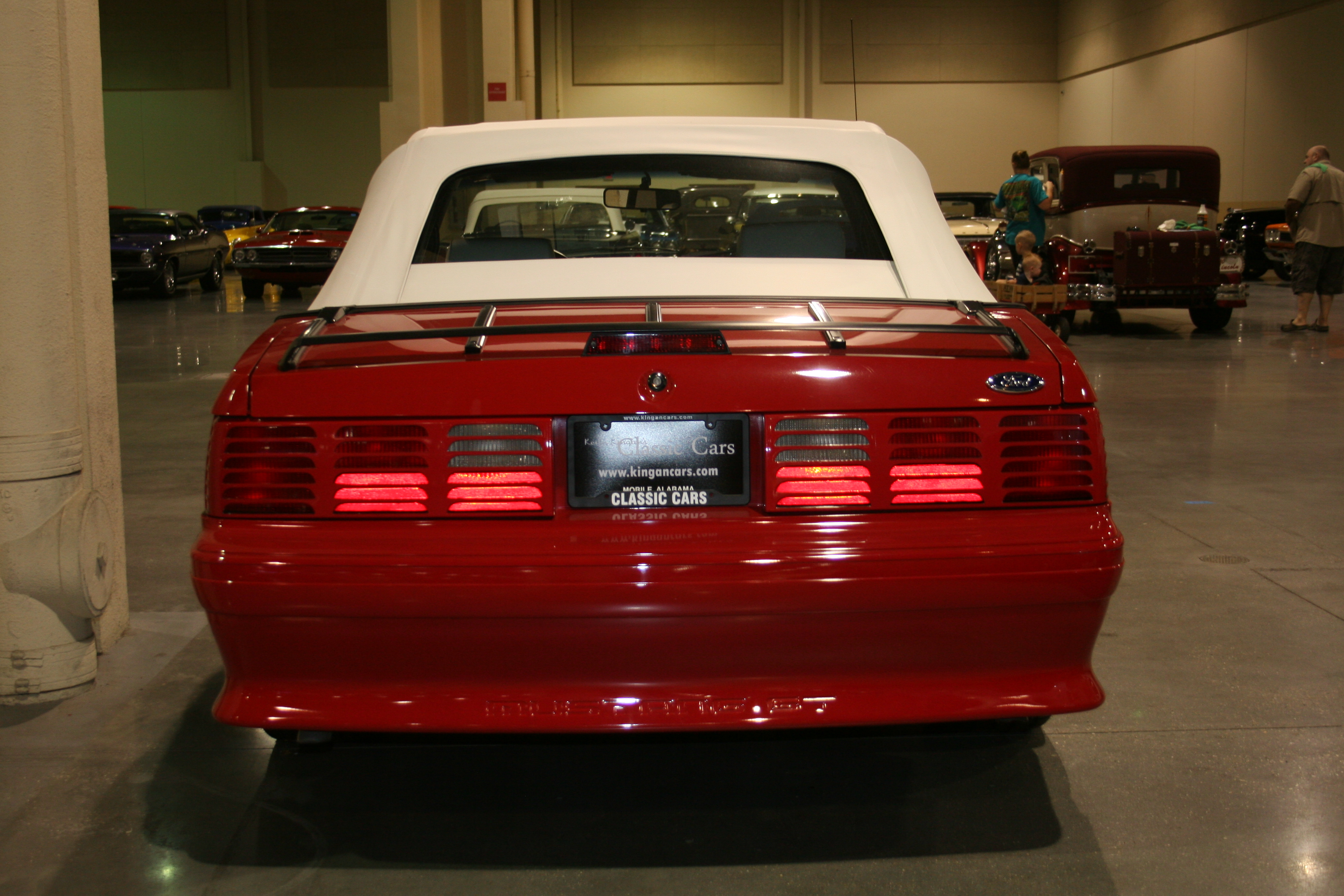 5th Image of a 1993 FORD MUSTANG GT