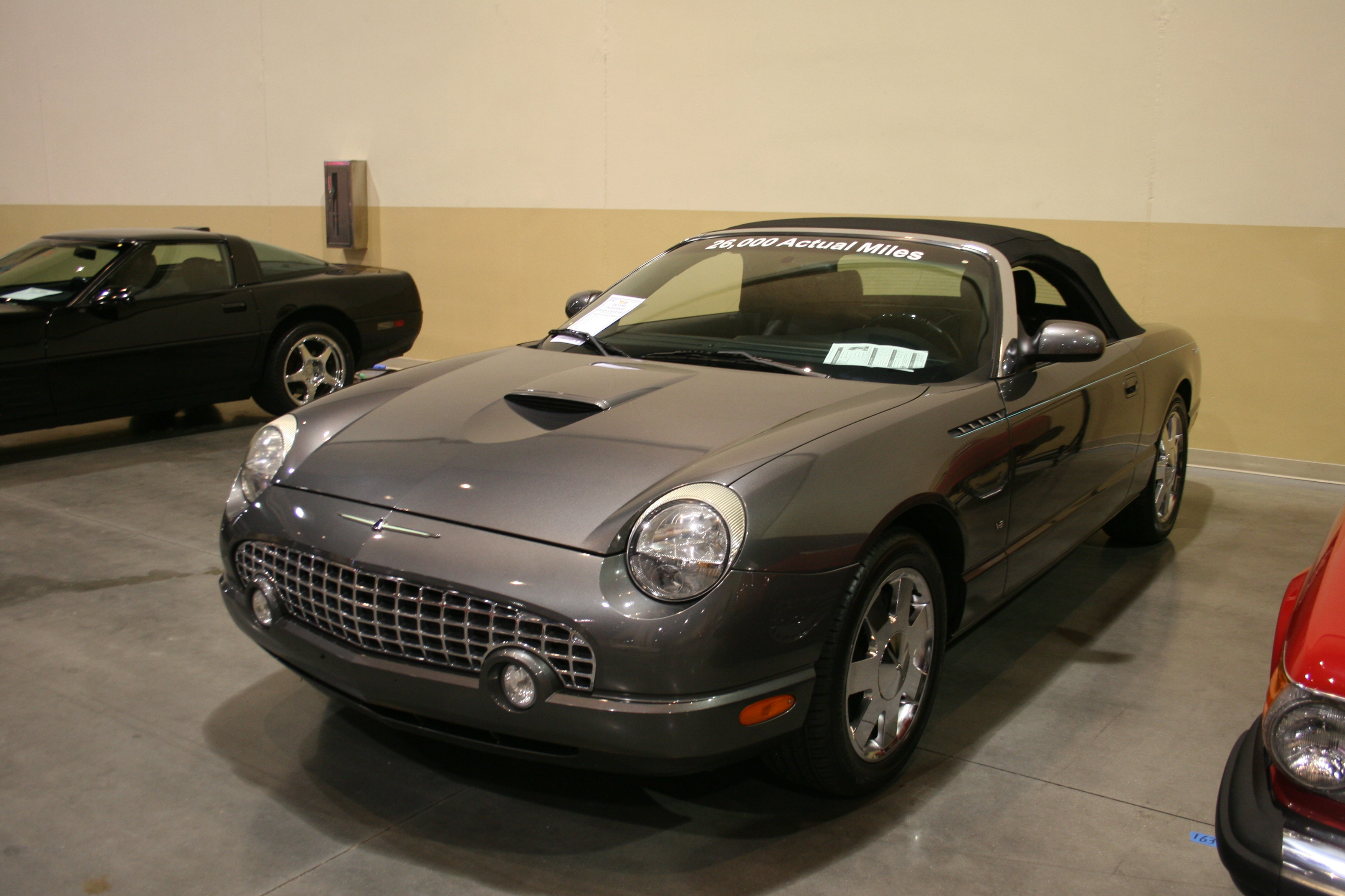 2nd Image of a 2003 FORD THUNDERBIRD