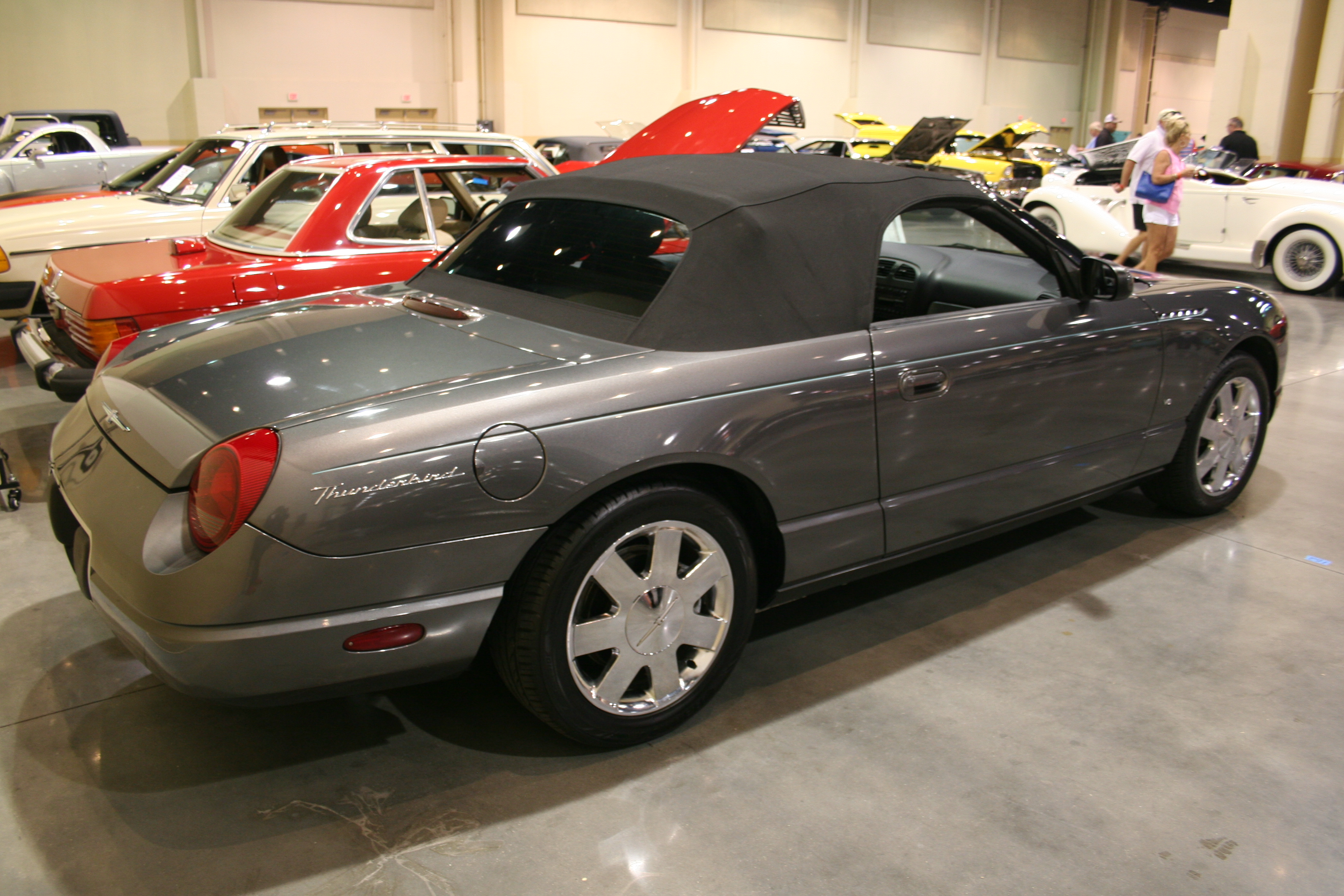 5th Image of a 2003 FORD THUNDERBIRD