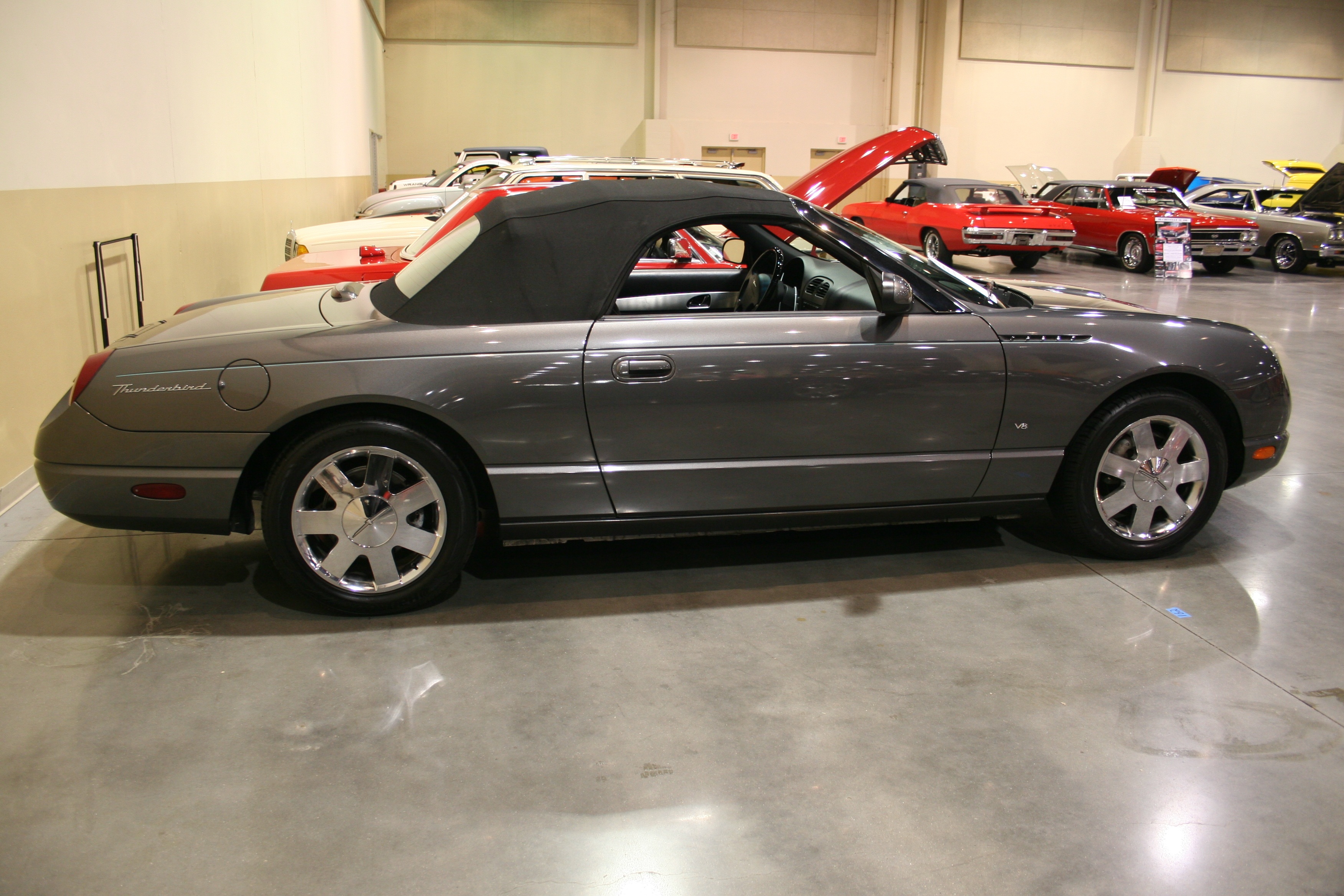 6th Image of a 2003 FORD THUNDERBIRD