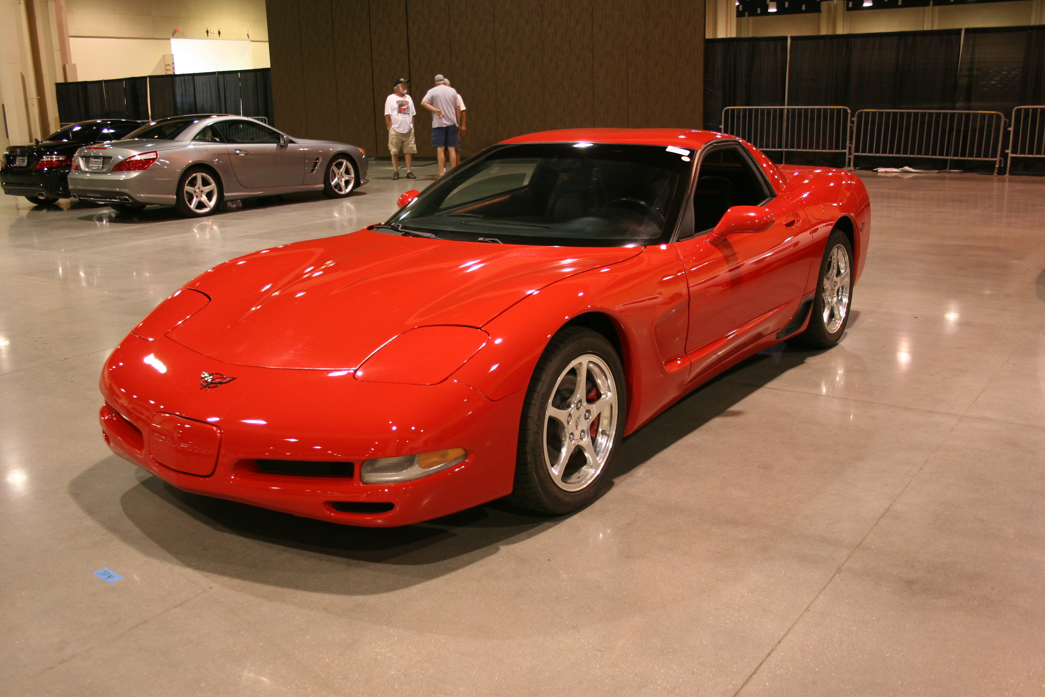 2nd Image of a 2001 CHEVROLET CORVETTE Z06