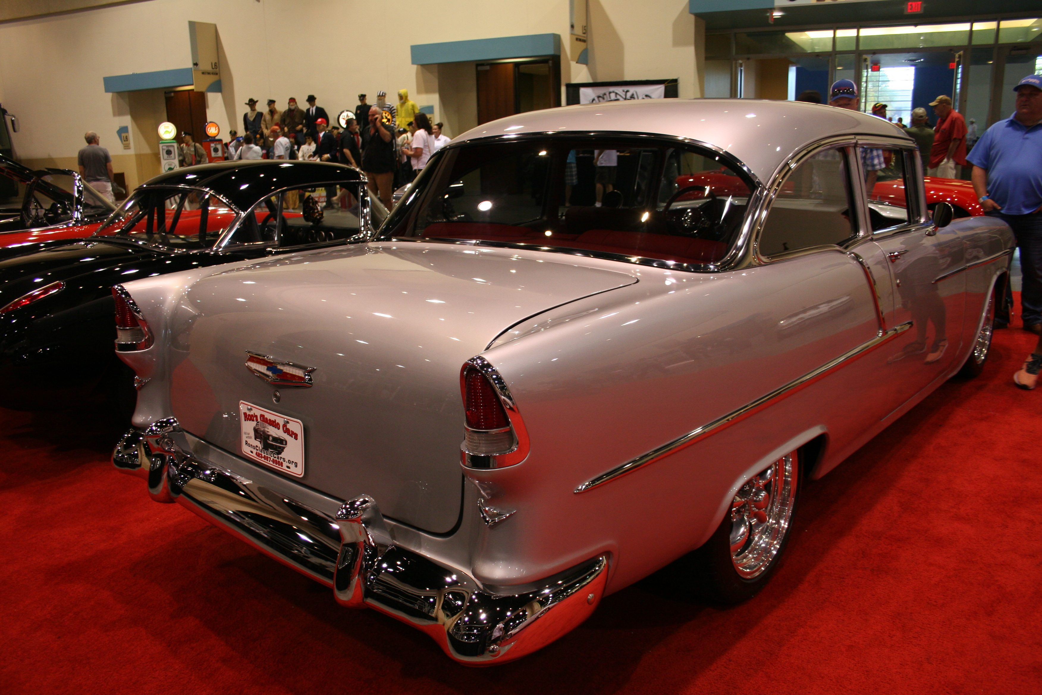 9th Image of a 1955 CHEVROLET BEL AIR