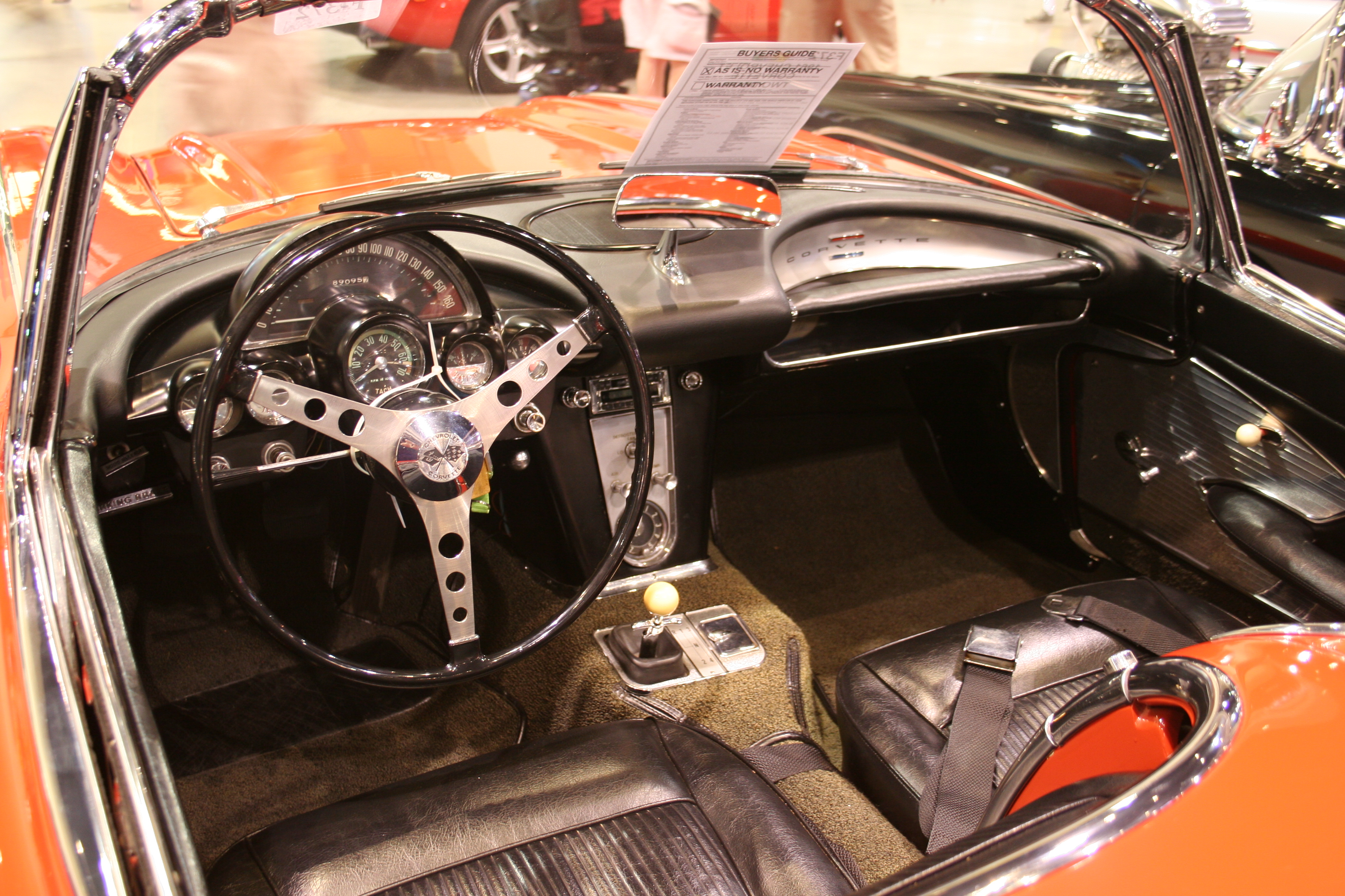 5th Image of a 1961 CHEVROLET CORVETTE