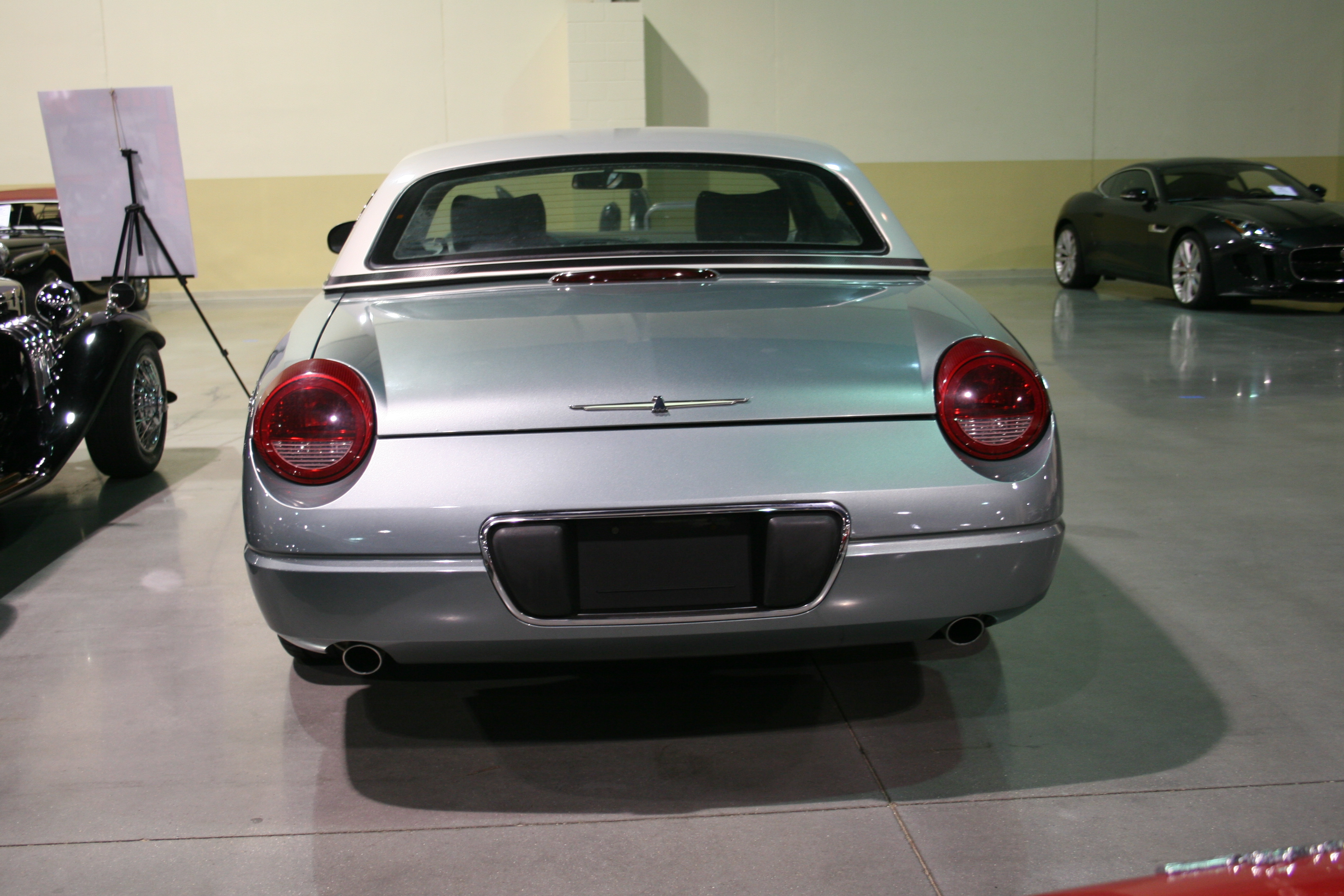5th Image of a 2004 FORD THUNDERBIRD PACIFIC COAST ROADSTER