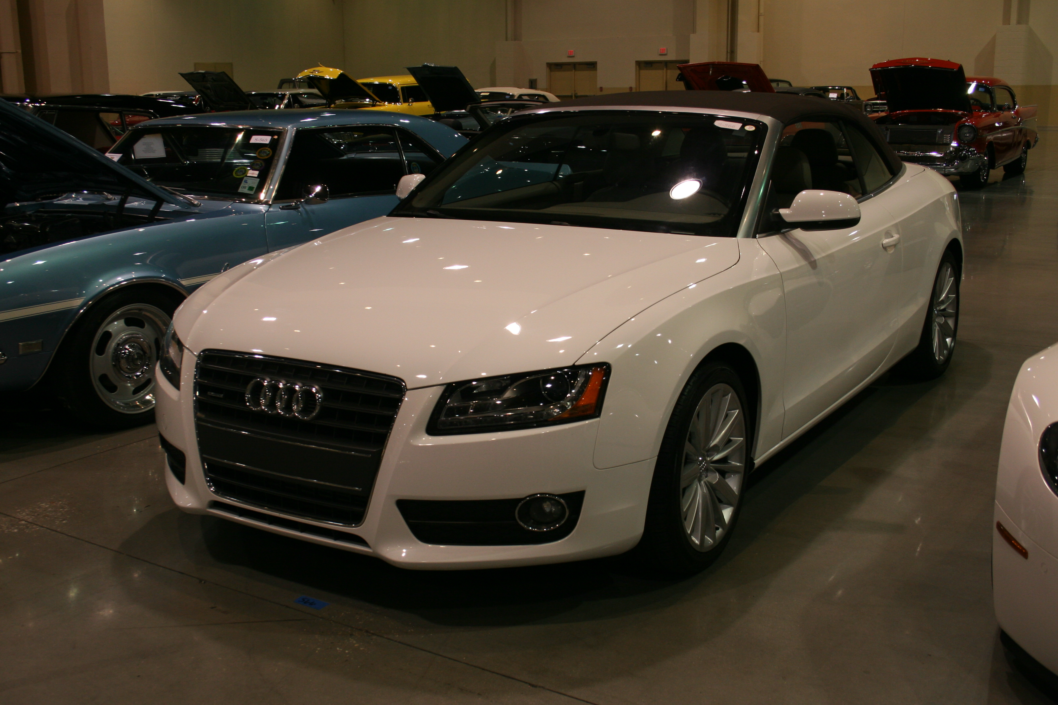 2nd Image of a 2010 AUDI A5 PREMIUM PLUS