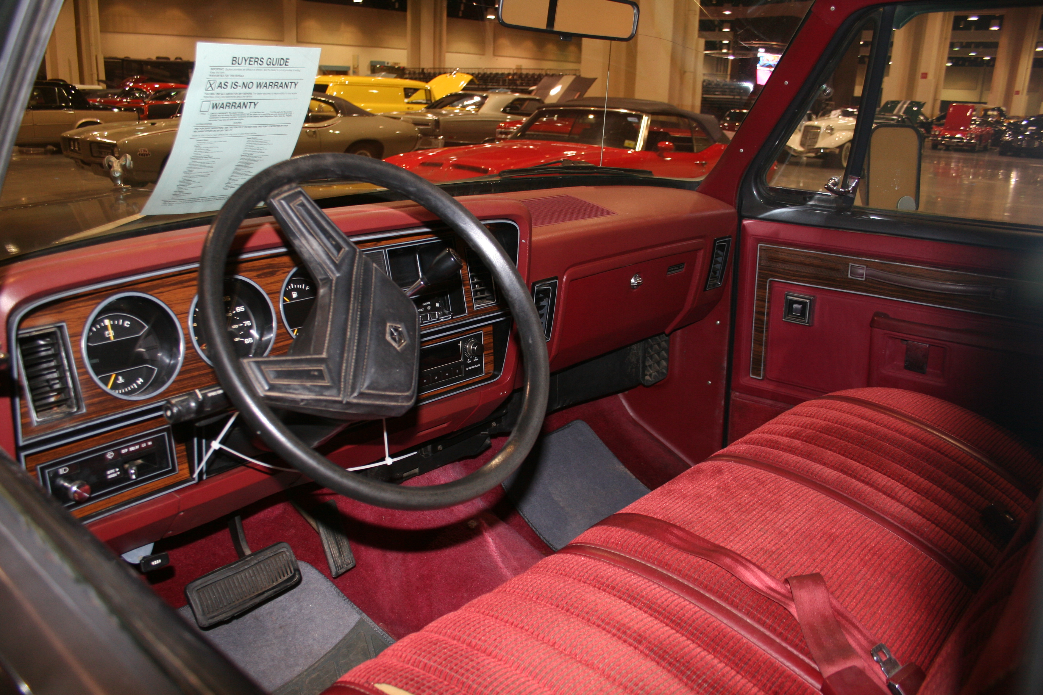 3rd Image of a 1986 DODGE D150 PICKUP 1/2 TON