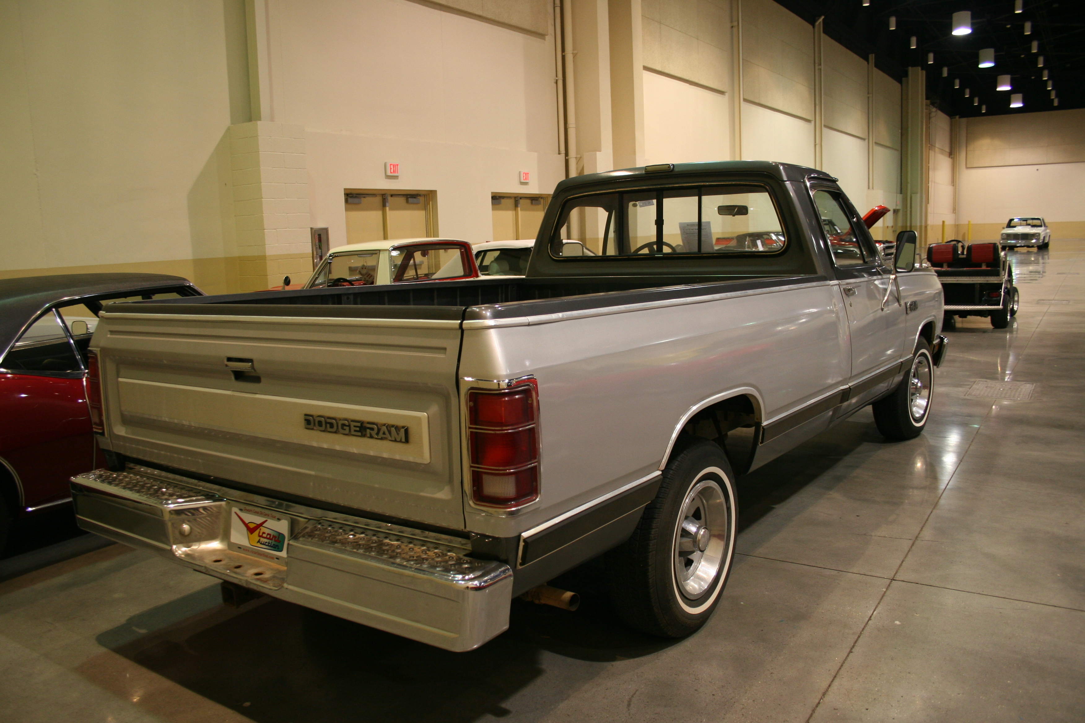 7th Image of a 1986 DODGE D150 PICKUP 1/2 TON