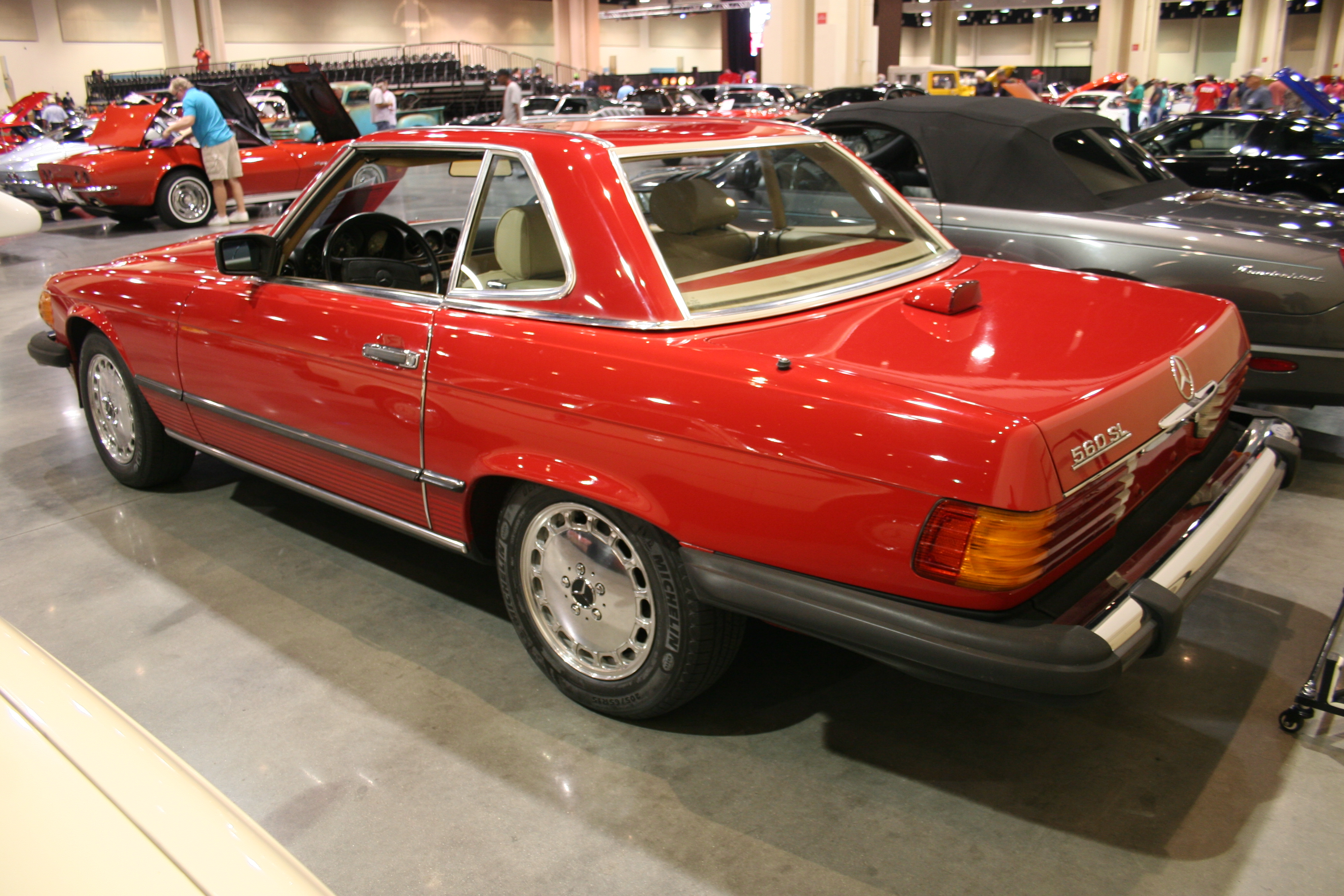 6th Image of a 1986 MERCEDES-BENZ 560 560SL