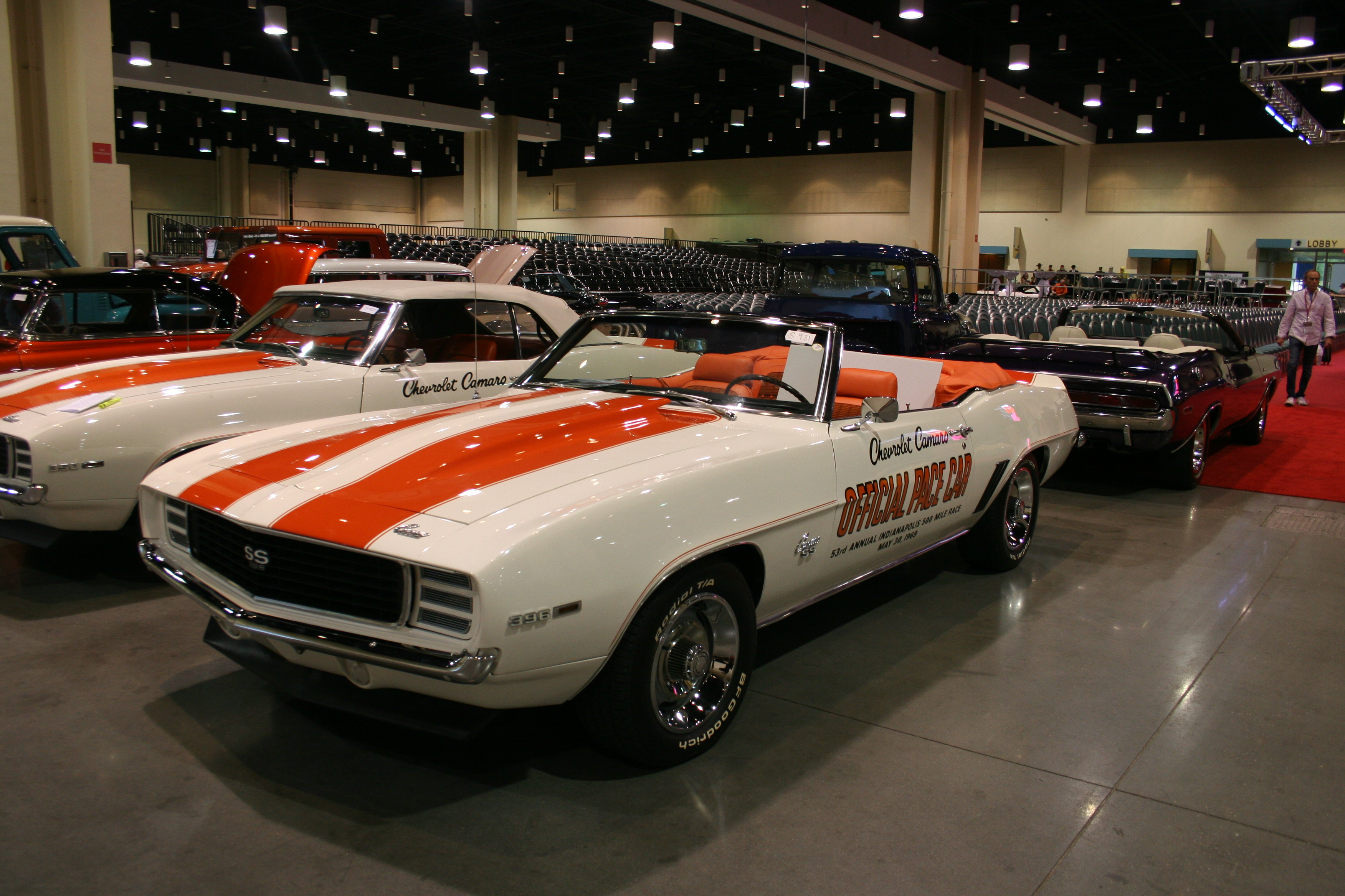 2nd Image of a 1969 CHEVROLET CAMARO PACE CAR