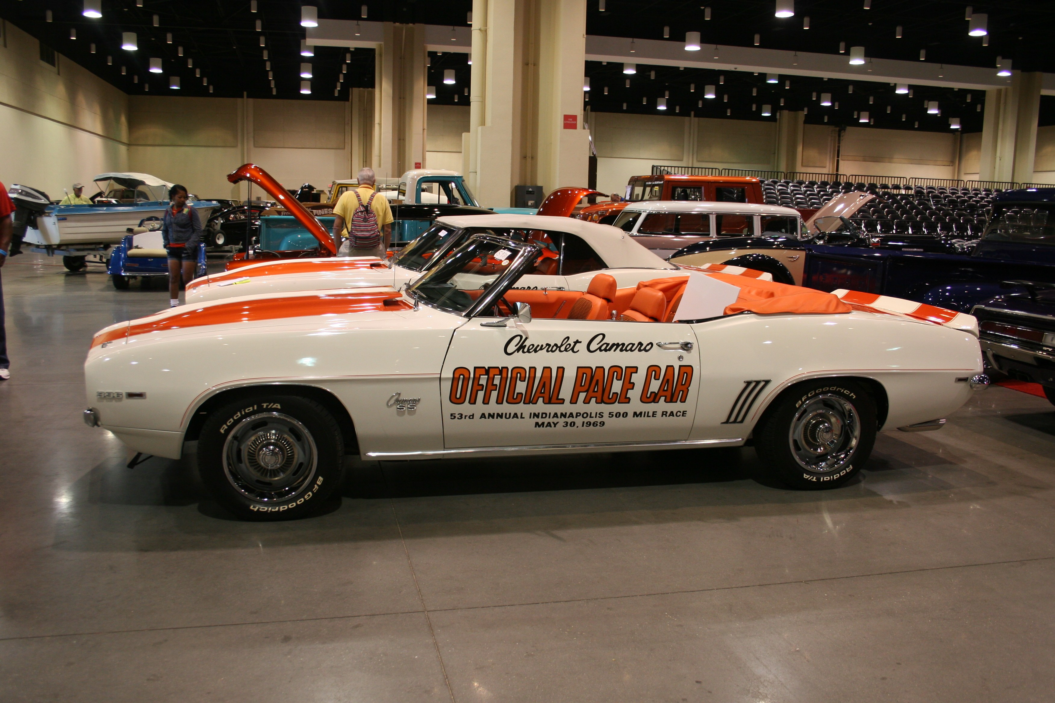 3rd Image of a 1969 CHEVROLET CAMARO PACE CAR
