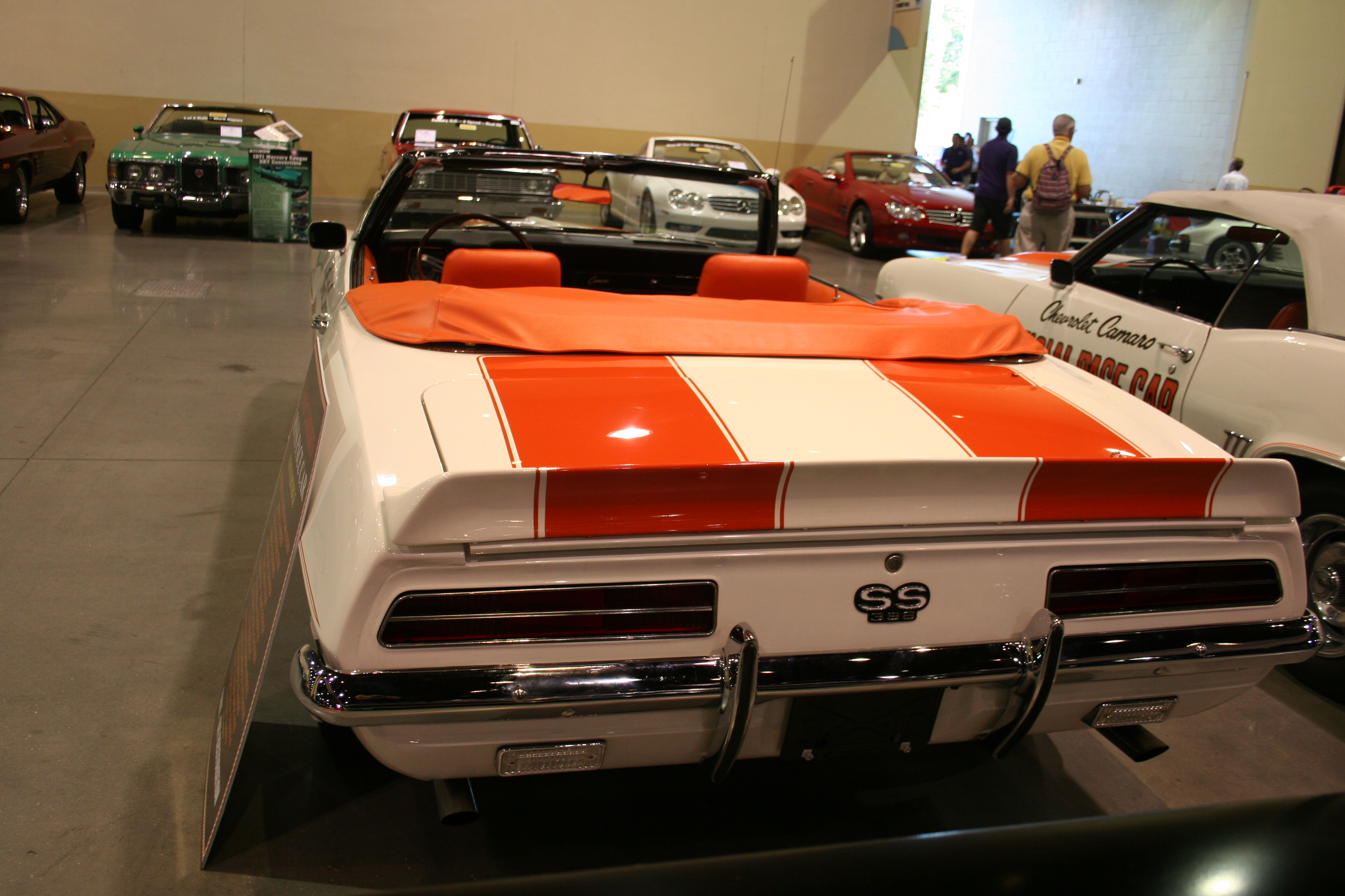 6th Image of a 1969 CHEVROLET CAMARO PACE CAR