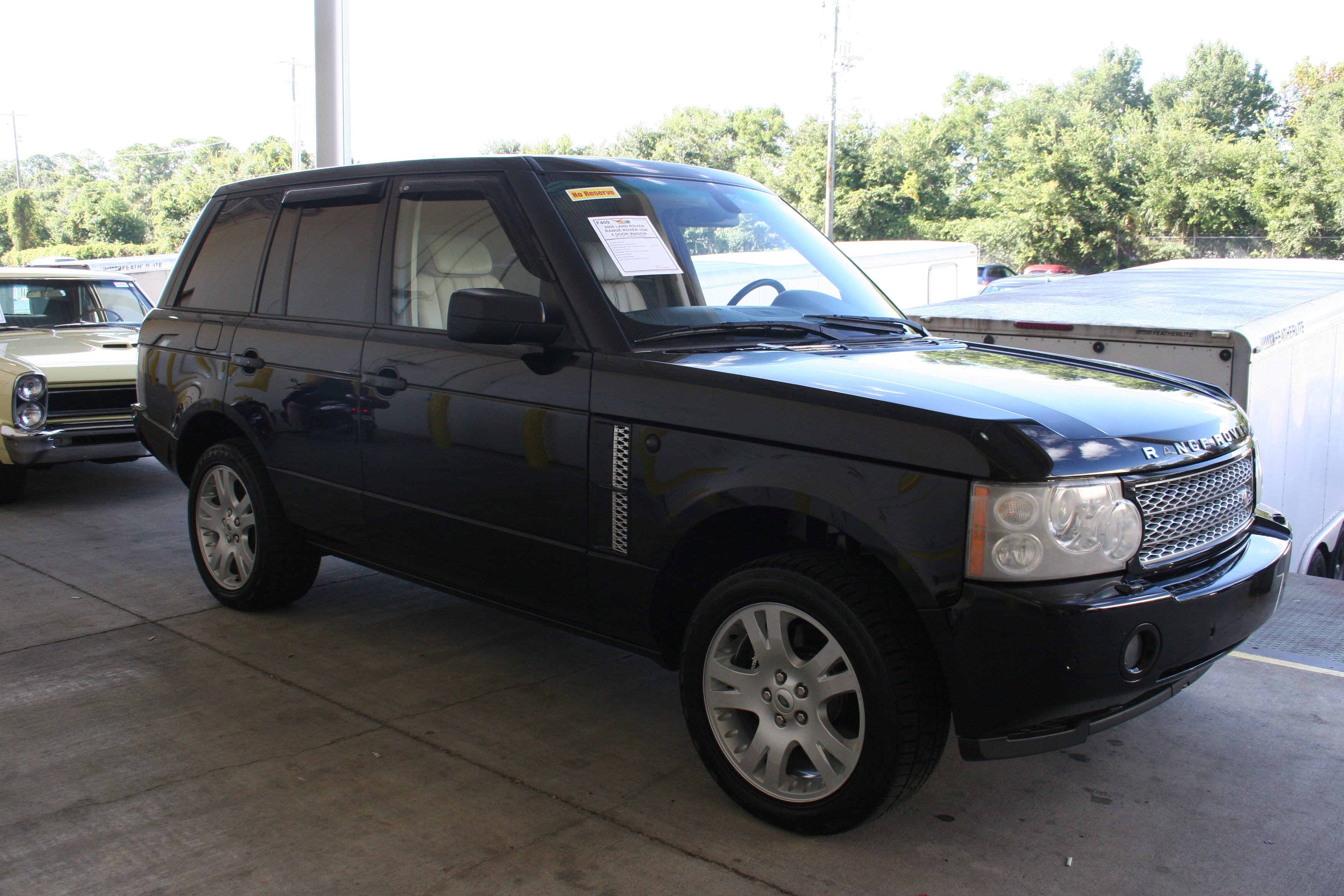 2nd Image of a 2006 LAND ROVER RANGE ROVER HSE
