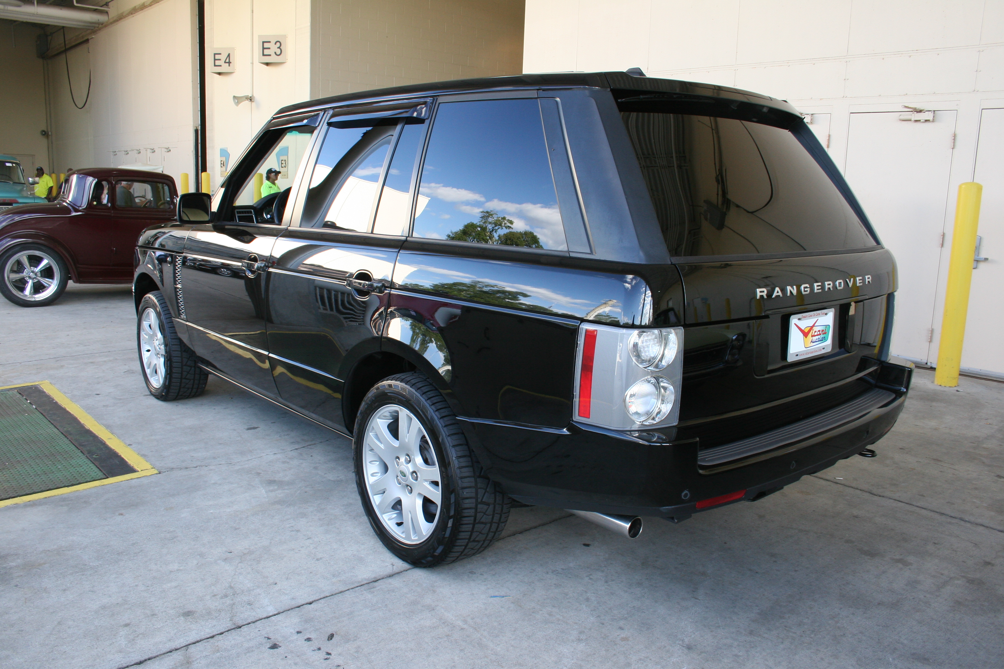 7th Image of a 2006 LAND ROVER RANGE ROVER HSE