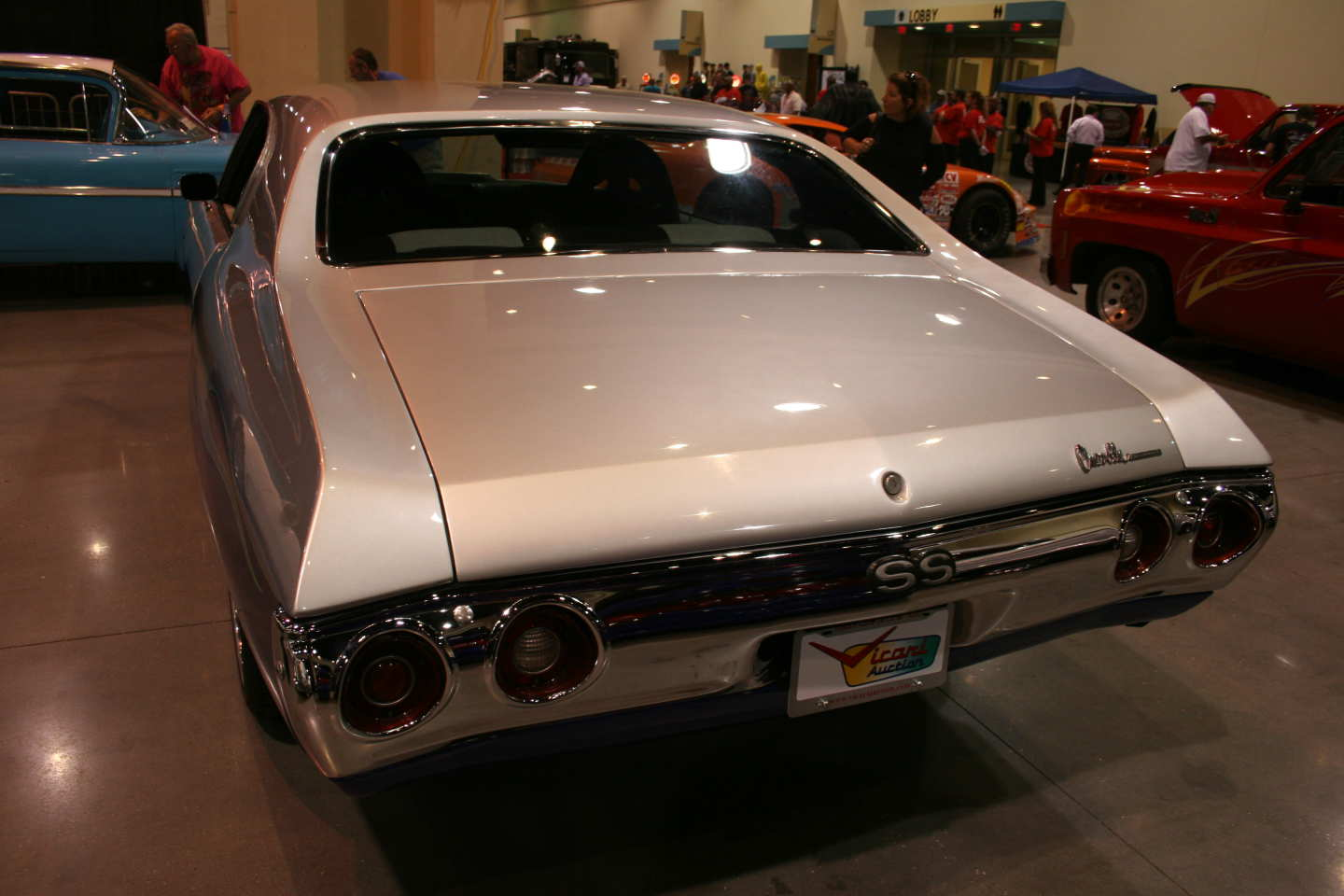 6th Image of a 1972 CHEVROLET CHEVELLE