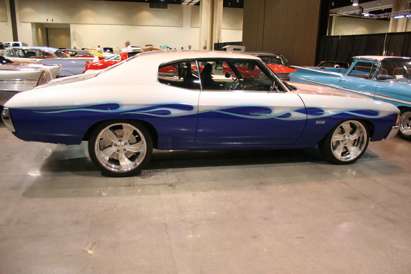 7th Image of a 1972 CHEVROLET CHEVELLE