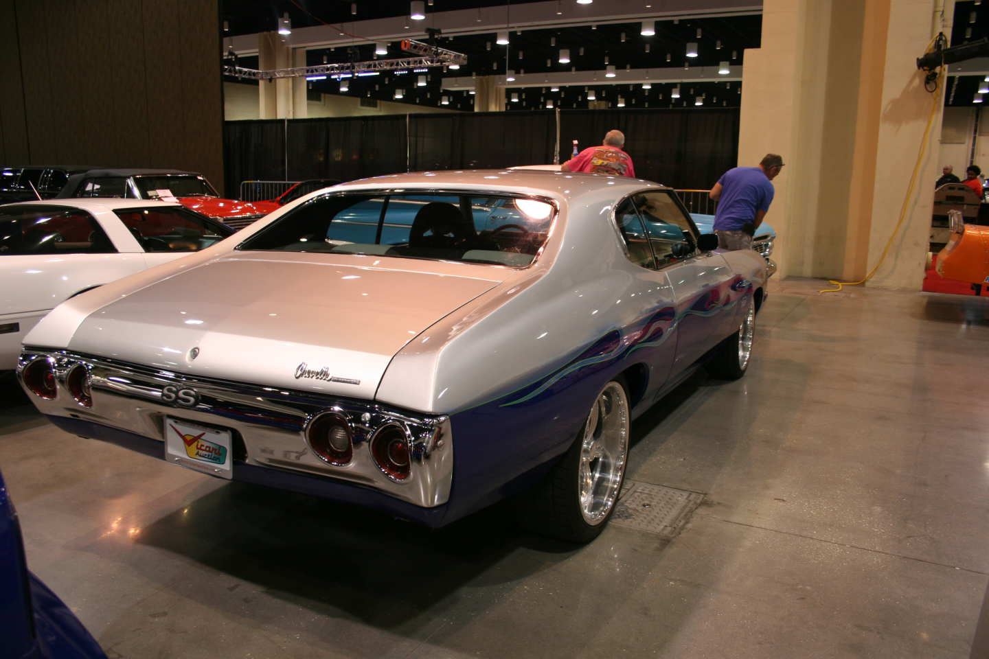 8th Image of a 1972 CHEVROLET CHEVELLE