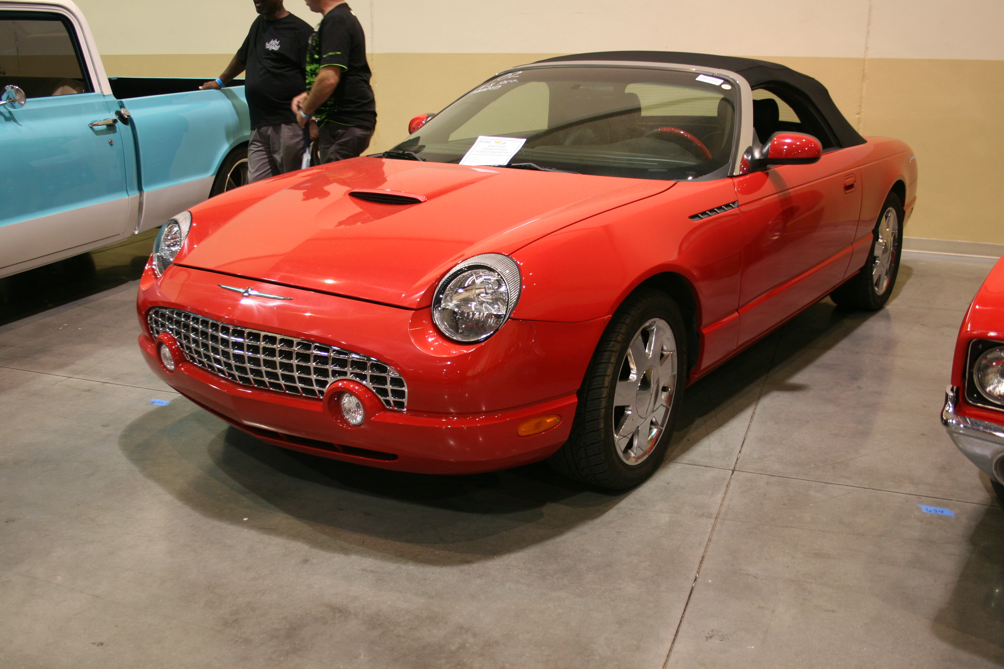 2nd Image of a 2002 FORD THUNDERBIRD