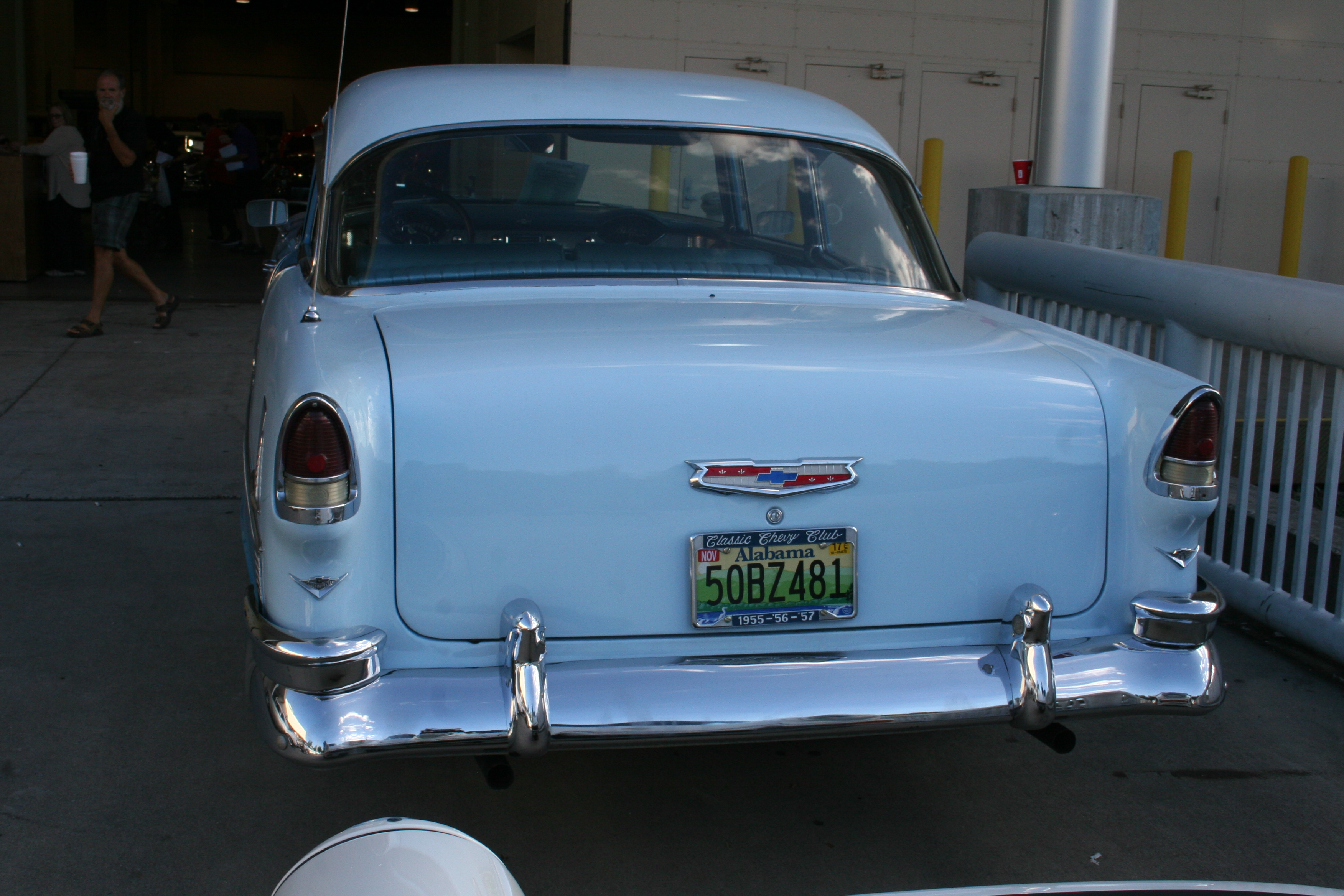 6th Image of a 1955 CHEVROLET BELAIR