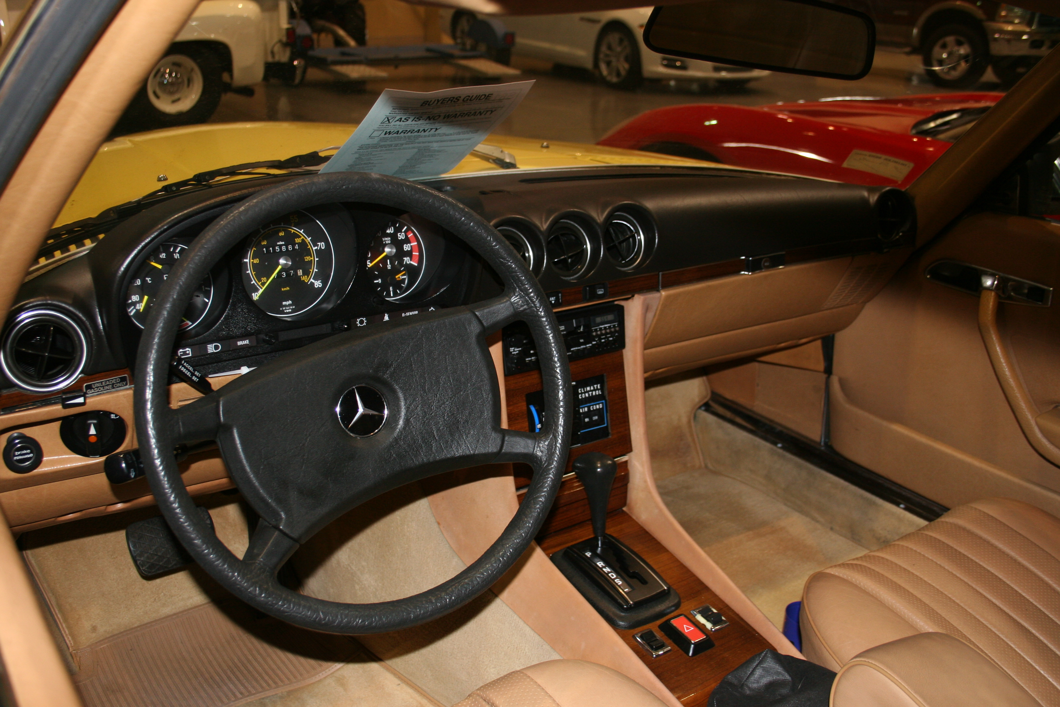 2nd Image of a 1981 MERCEDES-BENZ 380SL