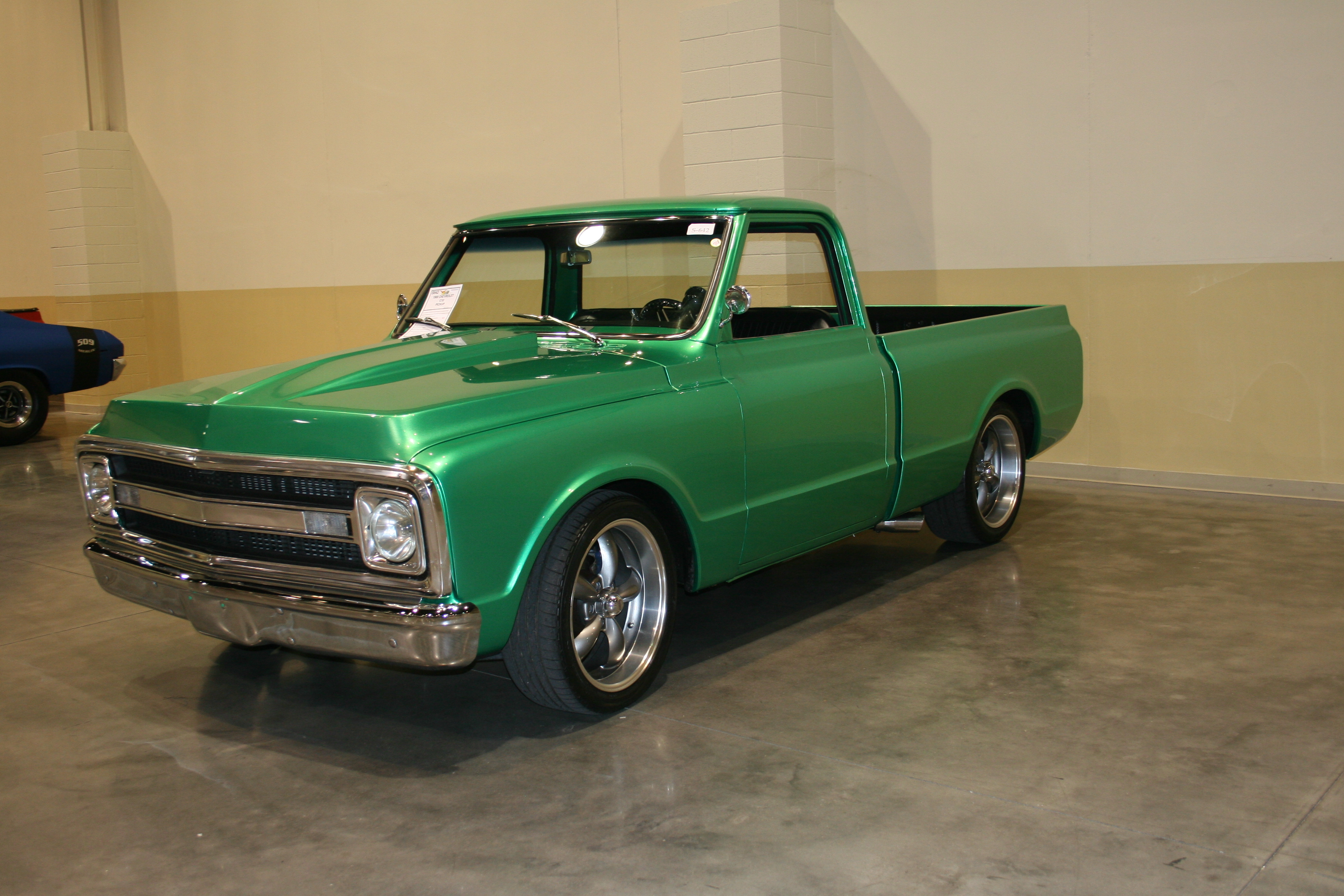 4th Image of a 1968 CHEVROLET C10
