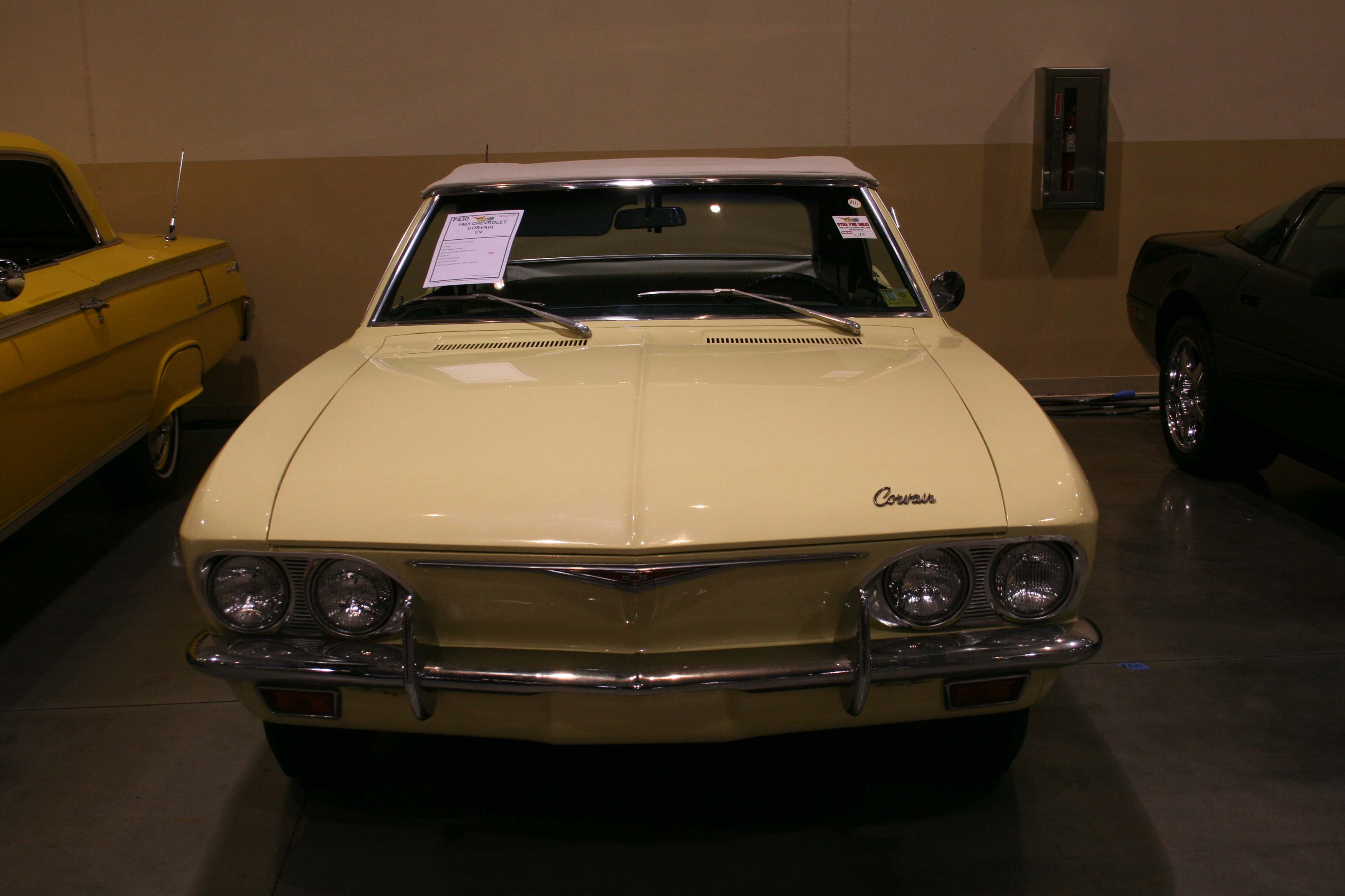 1st Image of a 1965 CHEVROLET CORVAIR