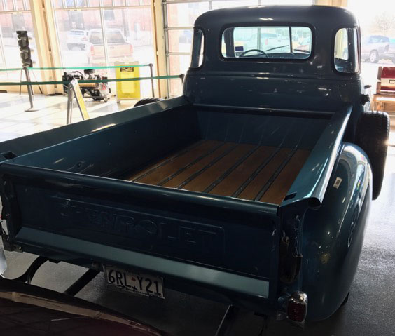 3rd Image of a 1953 CHEVROLET 3100