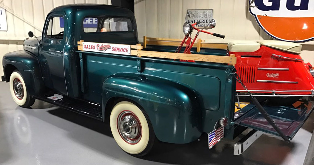 2nd Image of a 1951 FORD 3/4 TON
